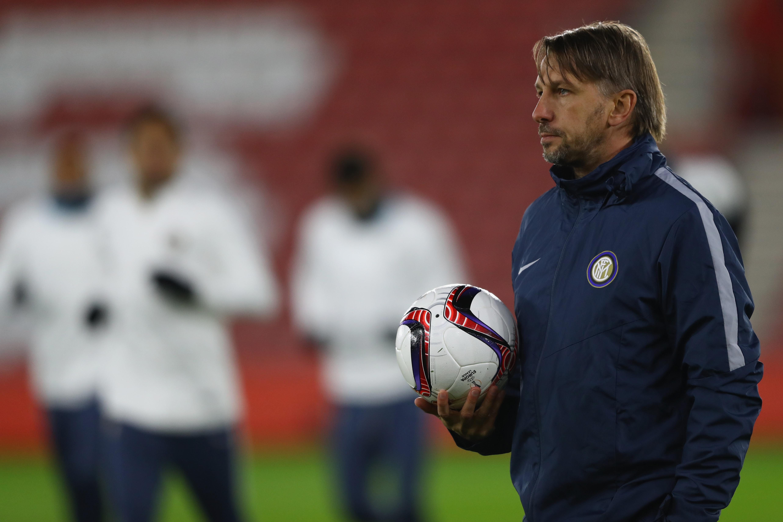 FC Internazionale Milano Training Session and Press Conference