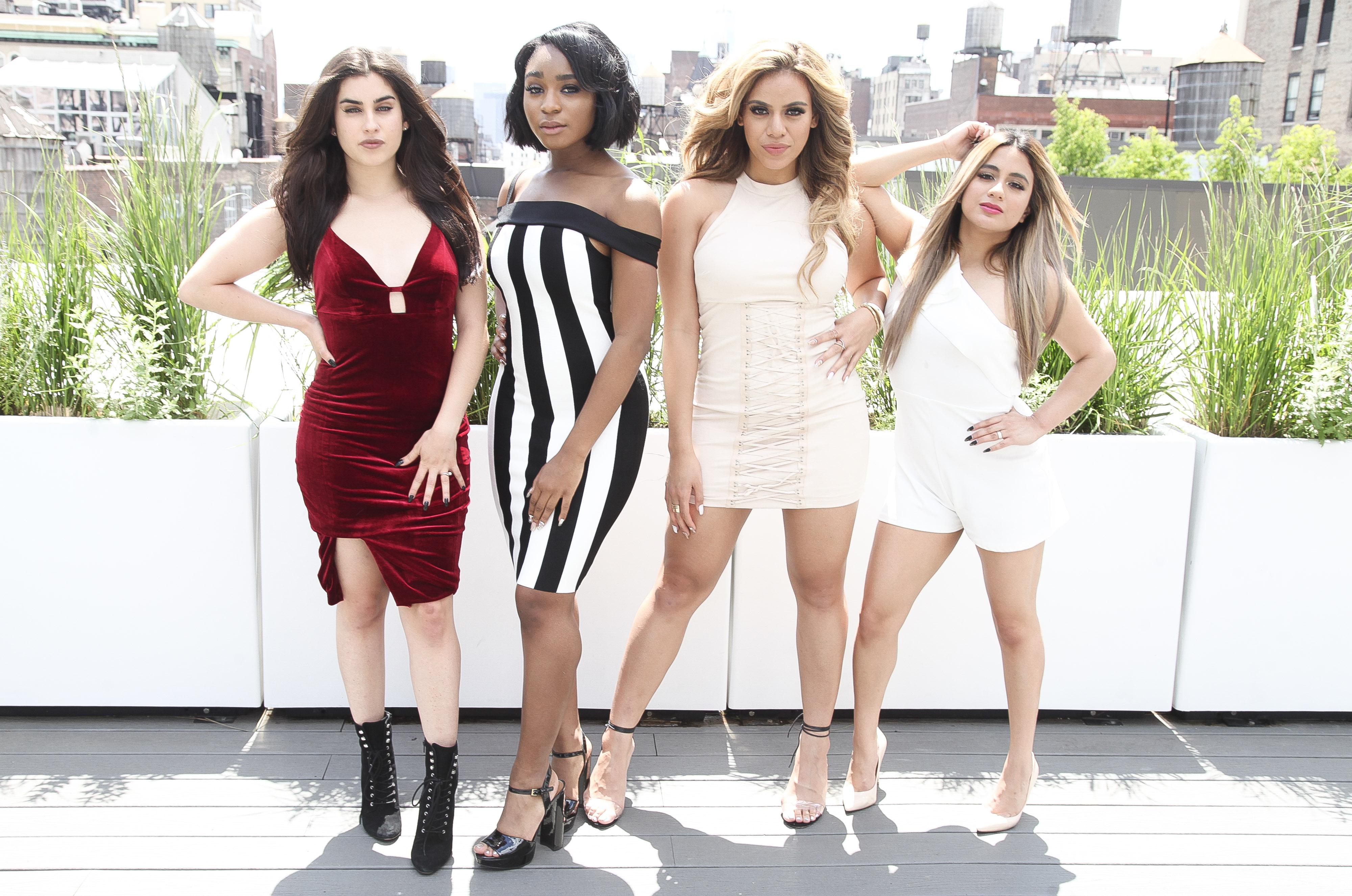 Lauren Jauregui, Normani Kordei, Dinah Jane, and Ally Brooke of Fifth Harmony