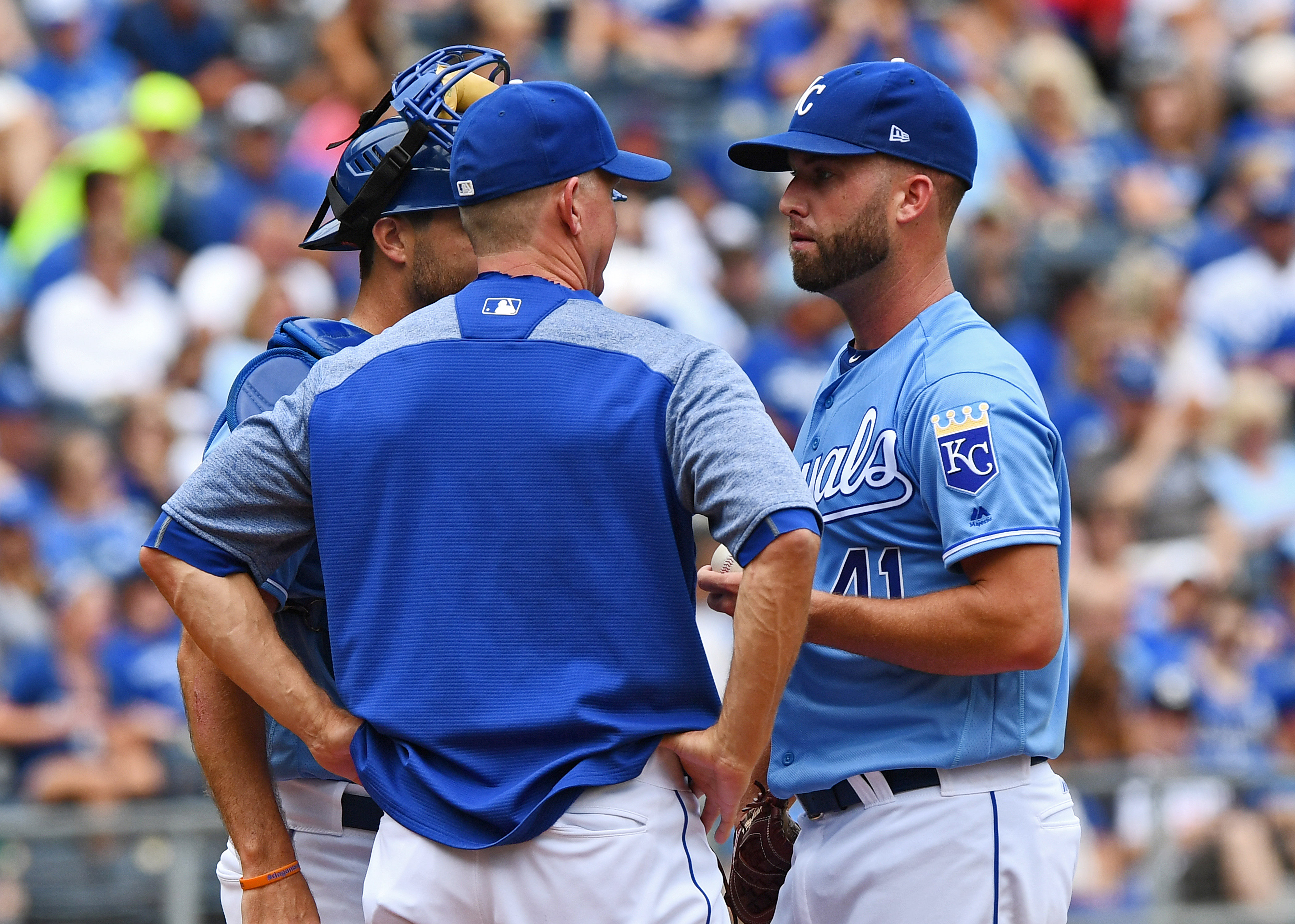 MLB: Game One-Seattle Mariners at Kansas City Royals