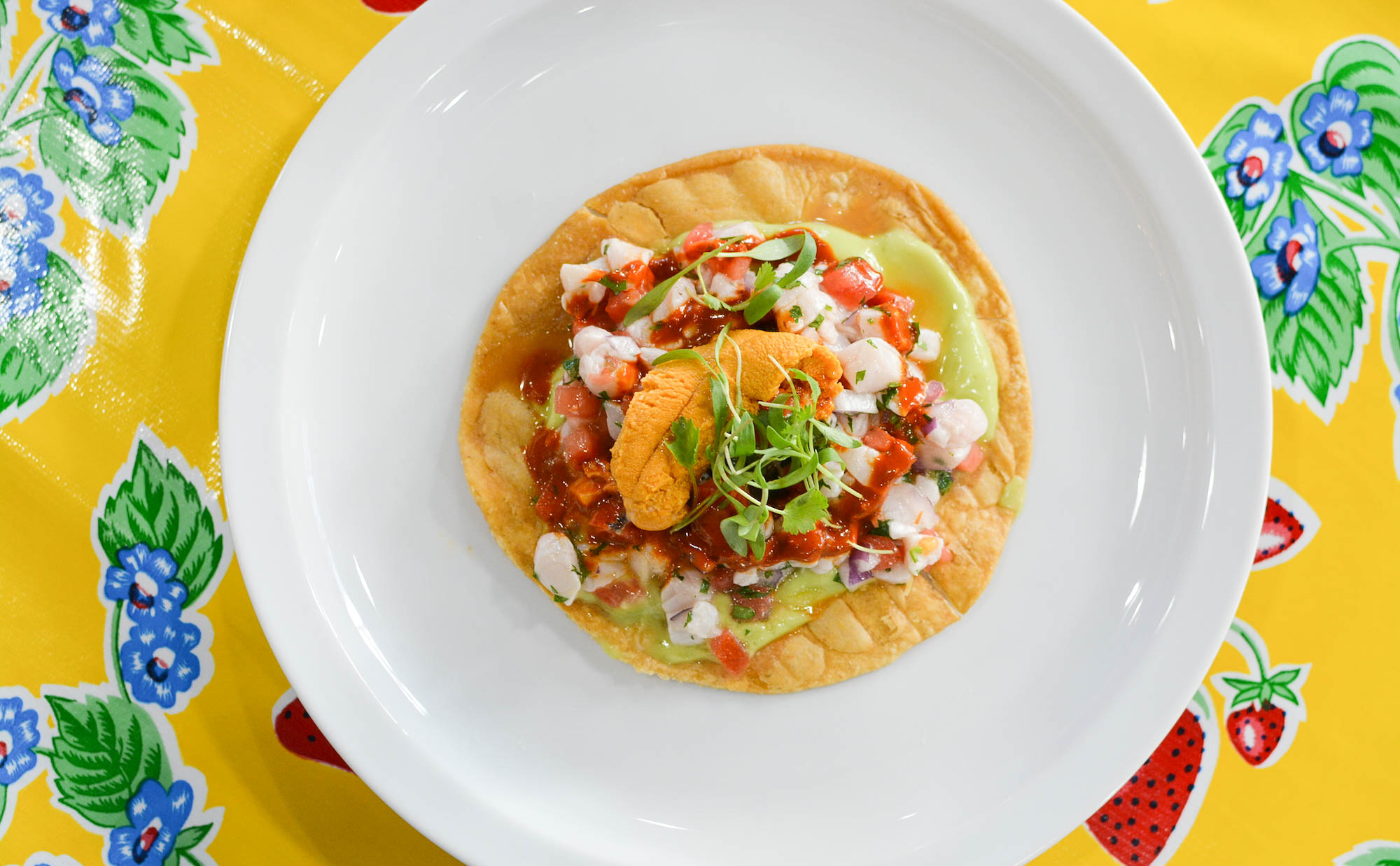 Ceviche from South Los Angeles restaurant Holbox