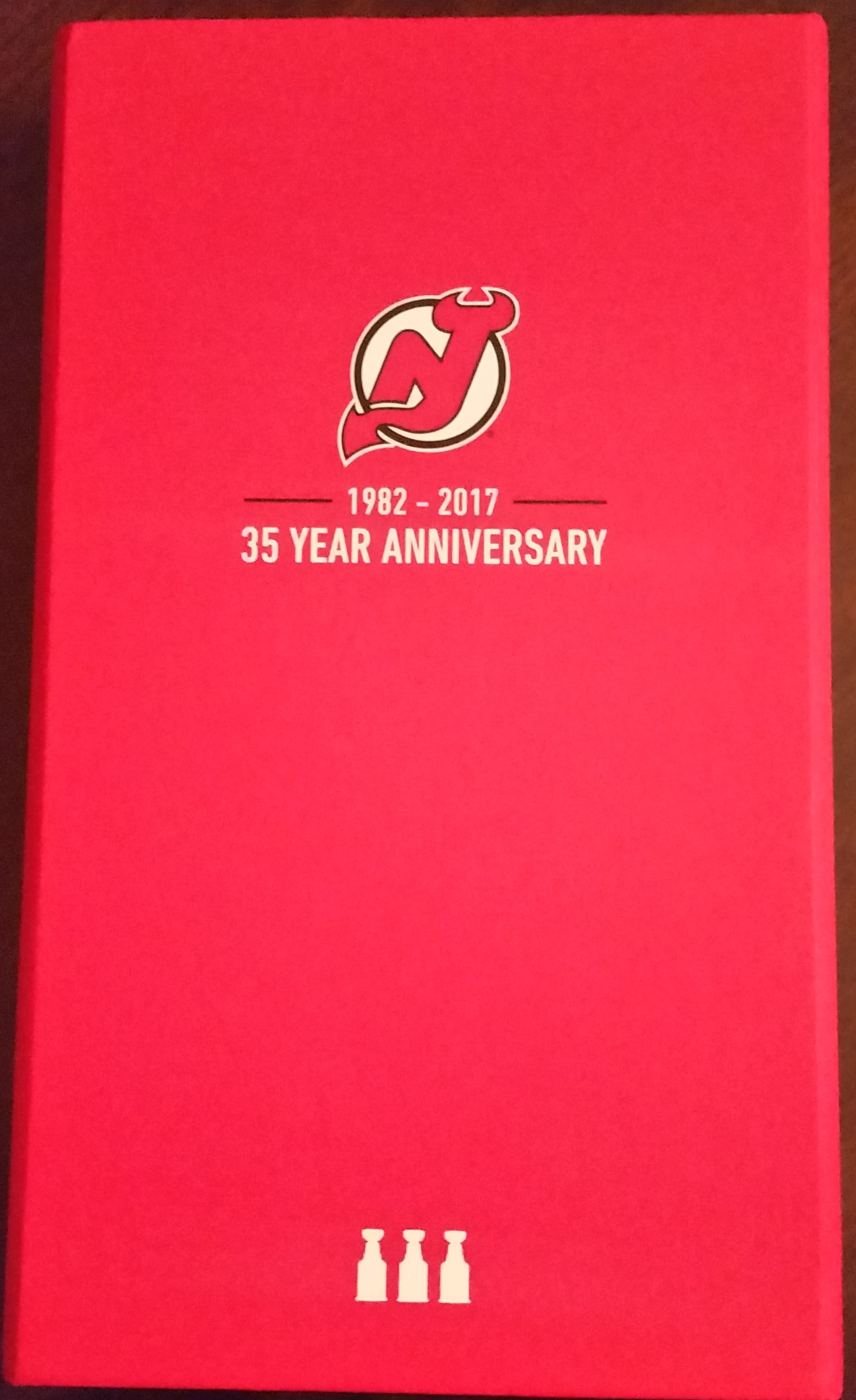 The 2017-18 Devils season ticket box