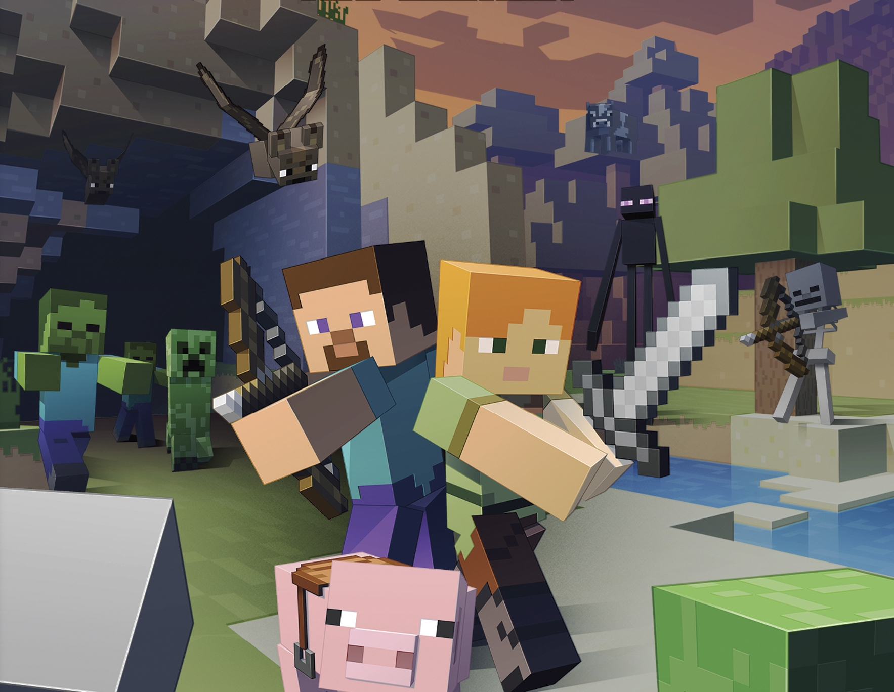 Minecraft Is Out Today For The New Nintendo 3ds Polygon