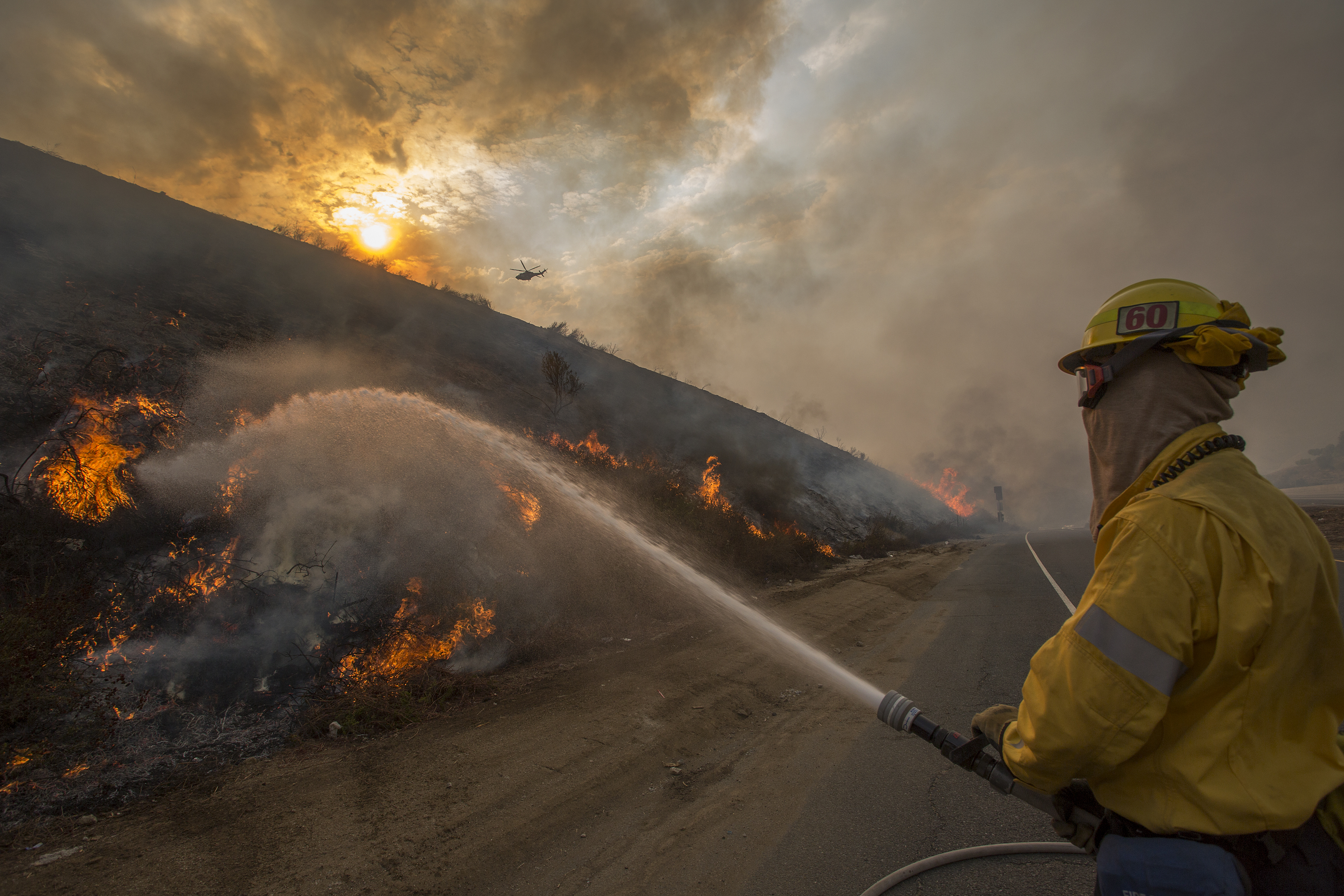 I'm a woman who fought wildfires for 7 years. Climate change is absolutely making them worse.