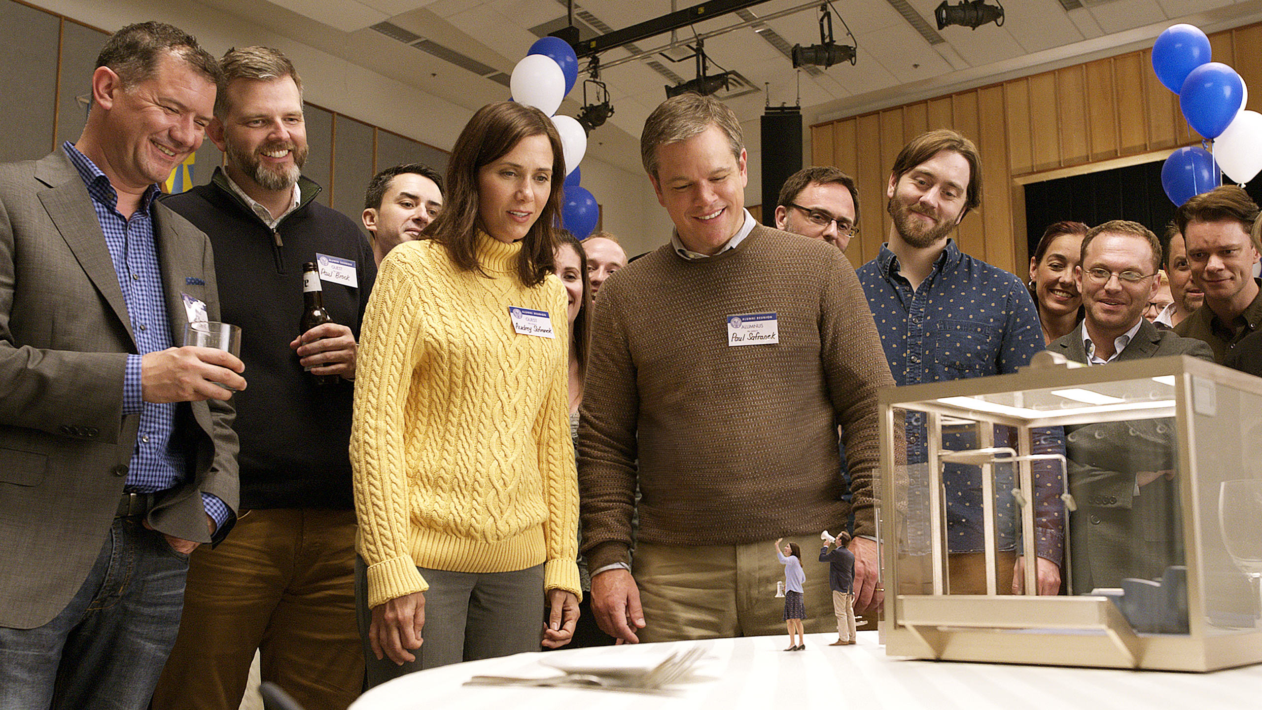Downsizing takes the dullest path through a brilliant ...