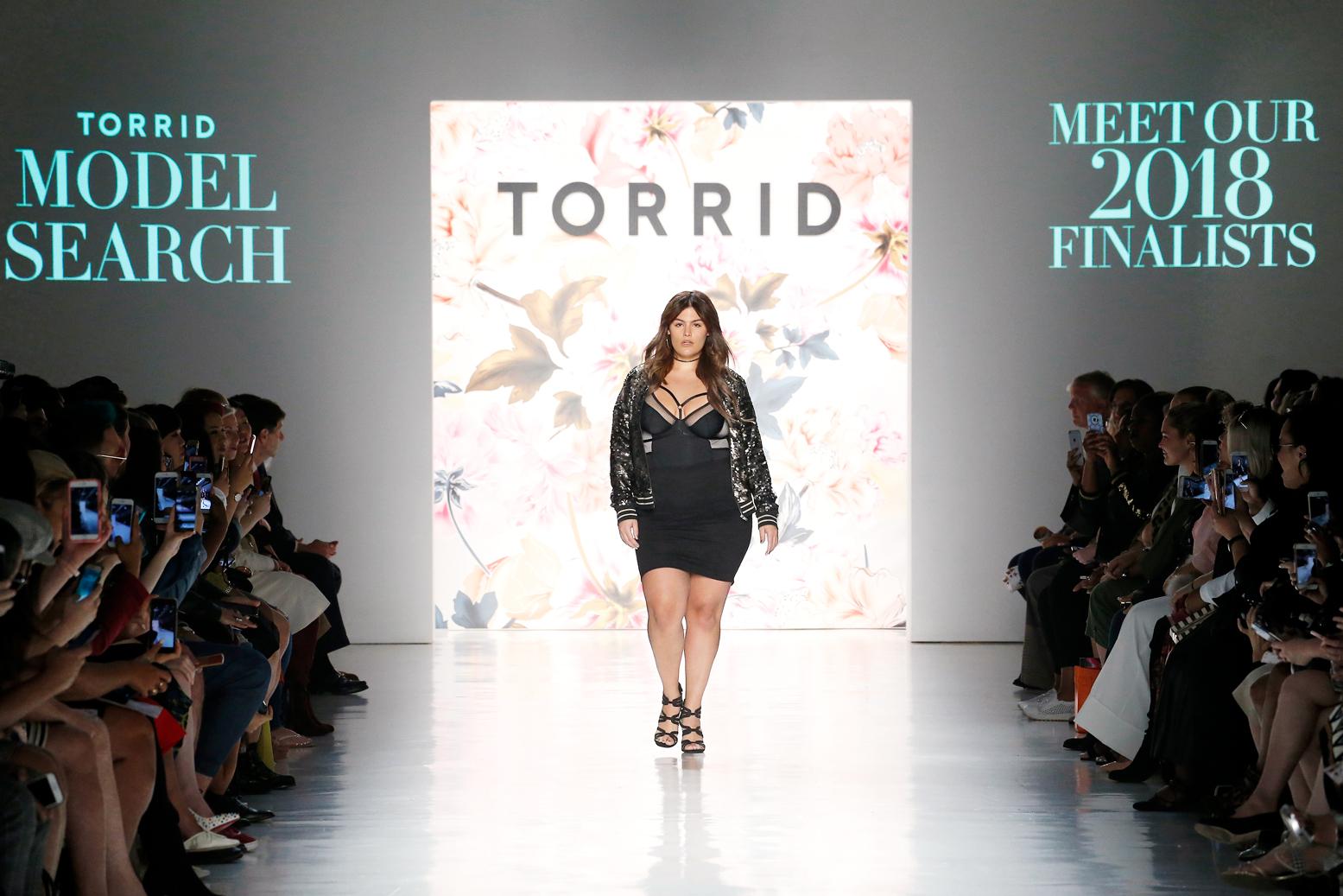 Torrid's NYFW show.