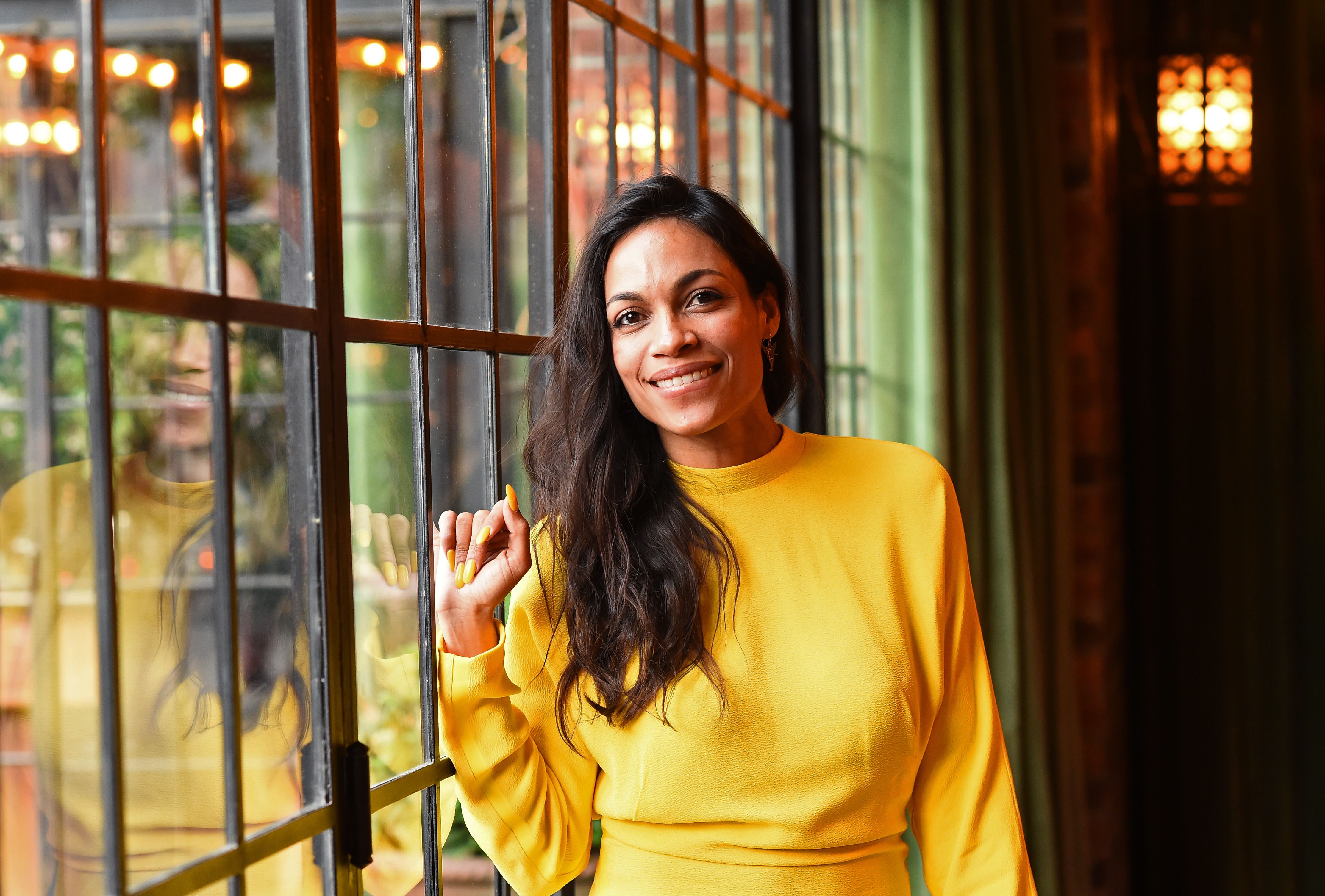 Actress Rosario Dawson attends 2017 Lower Eastside Girls Club Spring Fling And Awards Gala at The Bowery Terrace at the Bowery Hotel on May 24, 2017 in New York City.