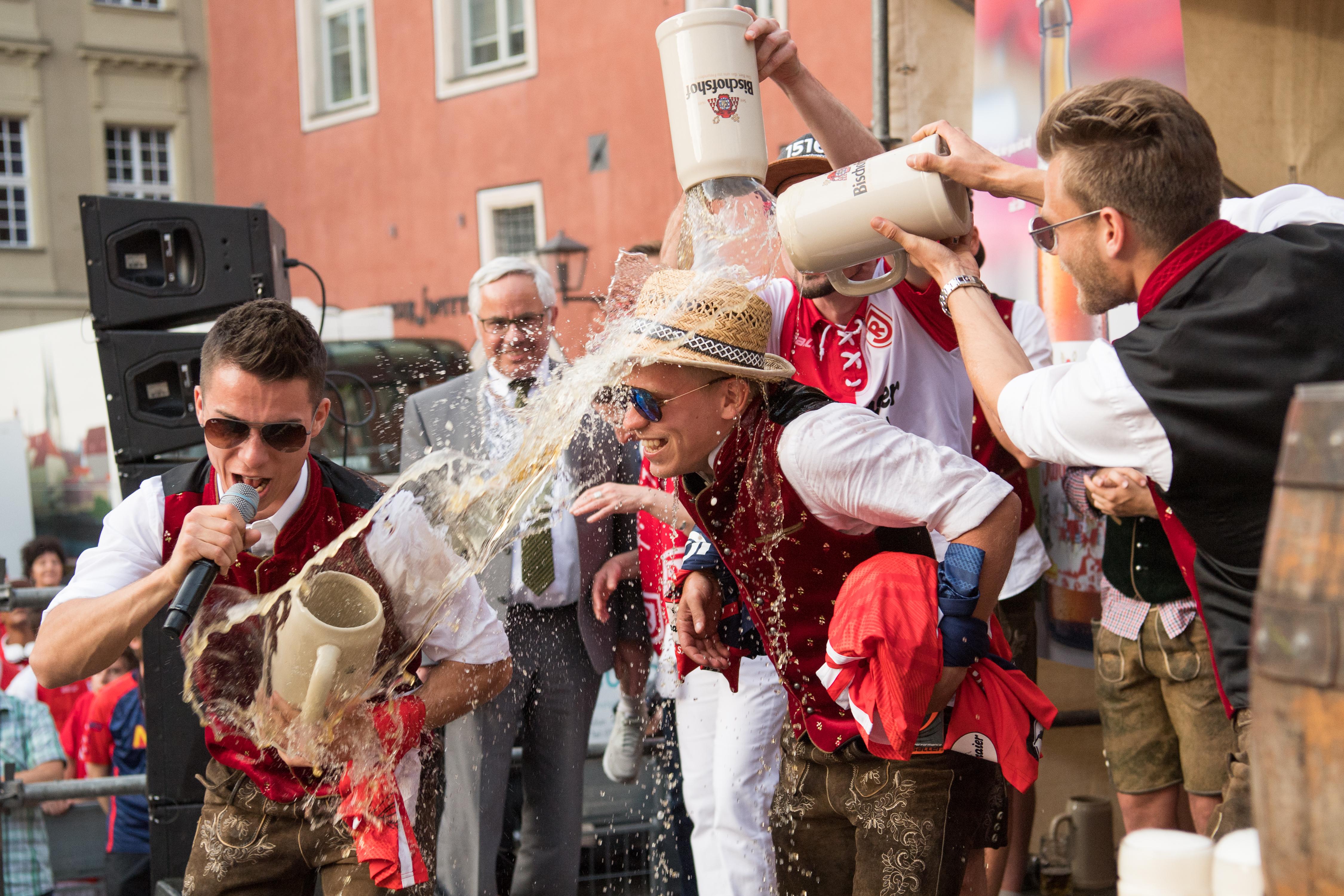 Jahn Regensburg Celebrates 2. Bundesliga Promotion
