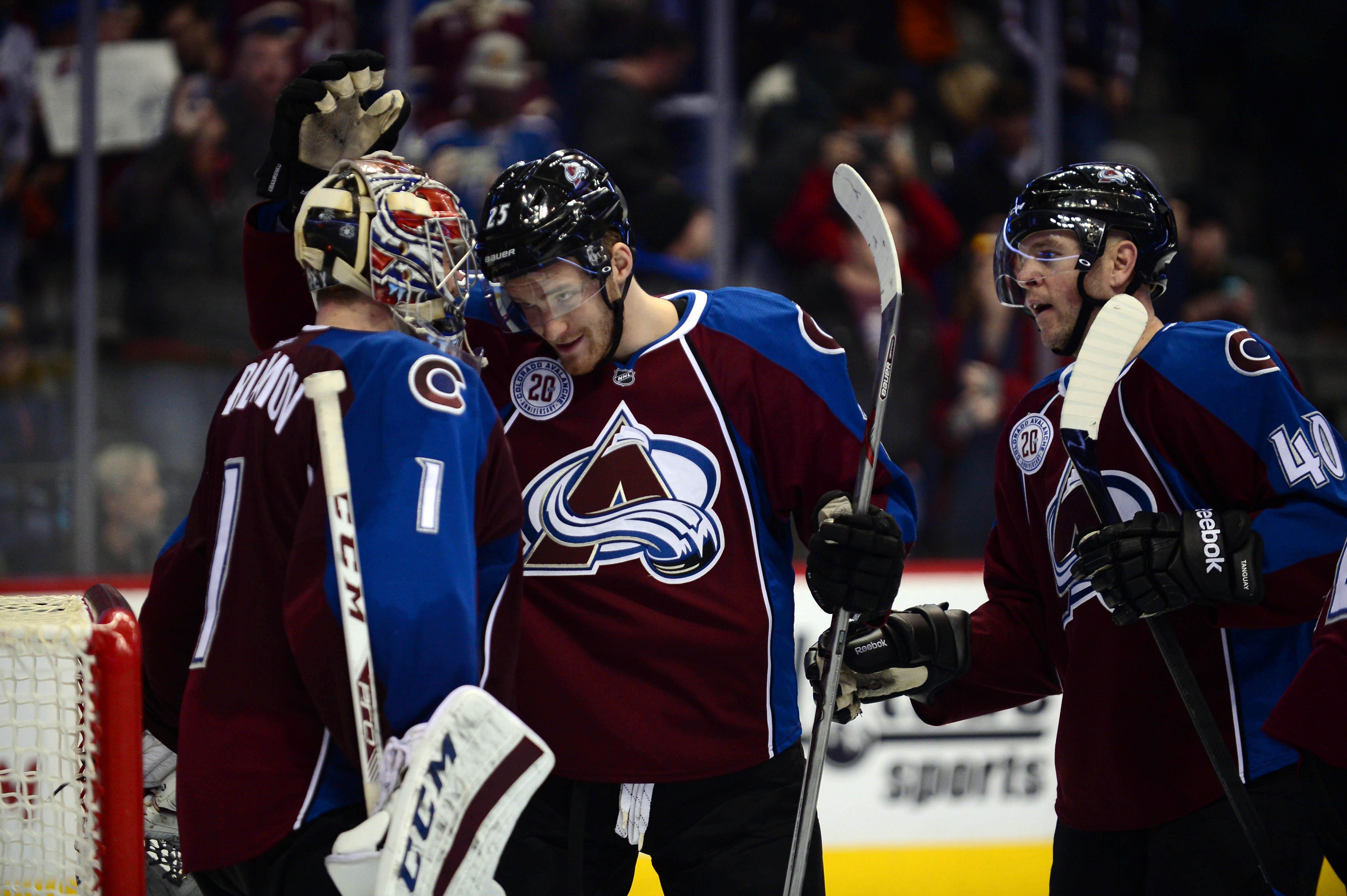 NHL: New York Islanders at Colorado Avalanche