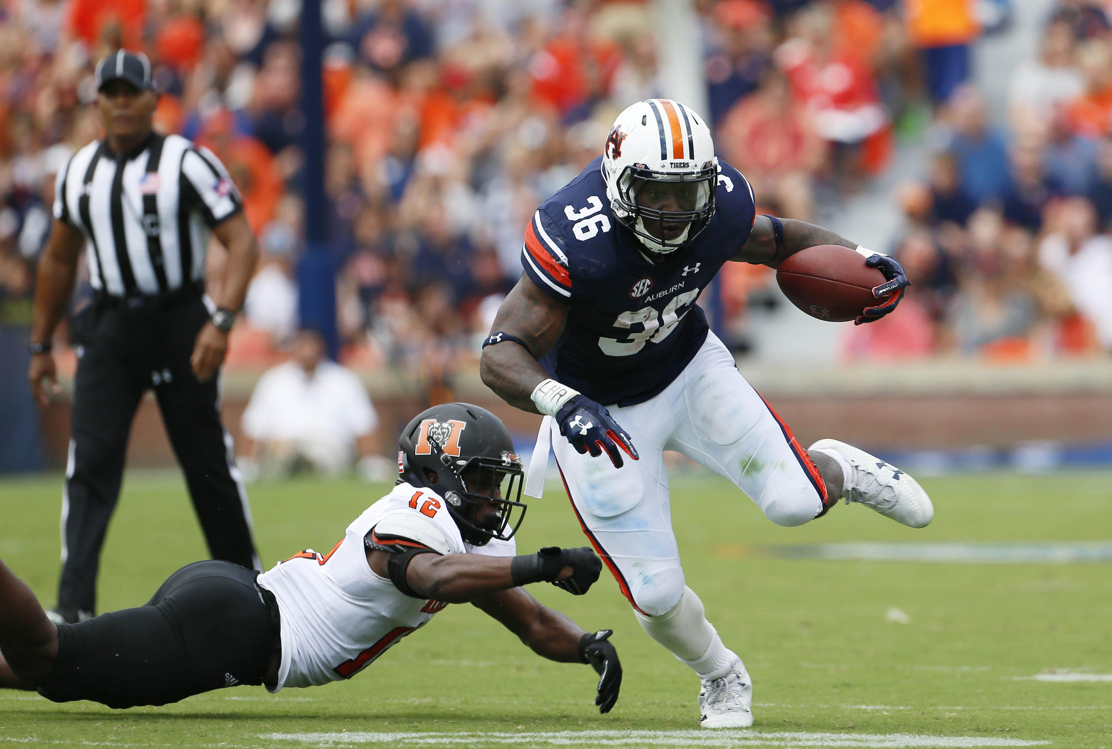 NCAA Football: Mercer at Auburn