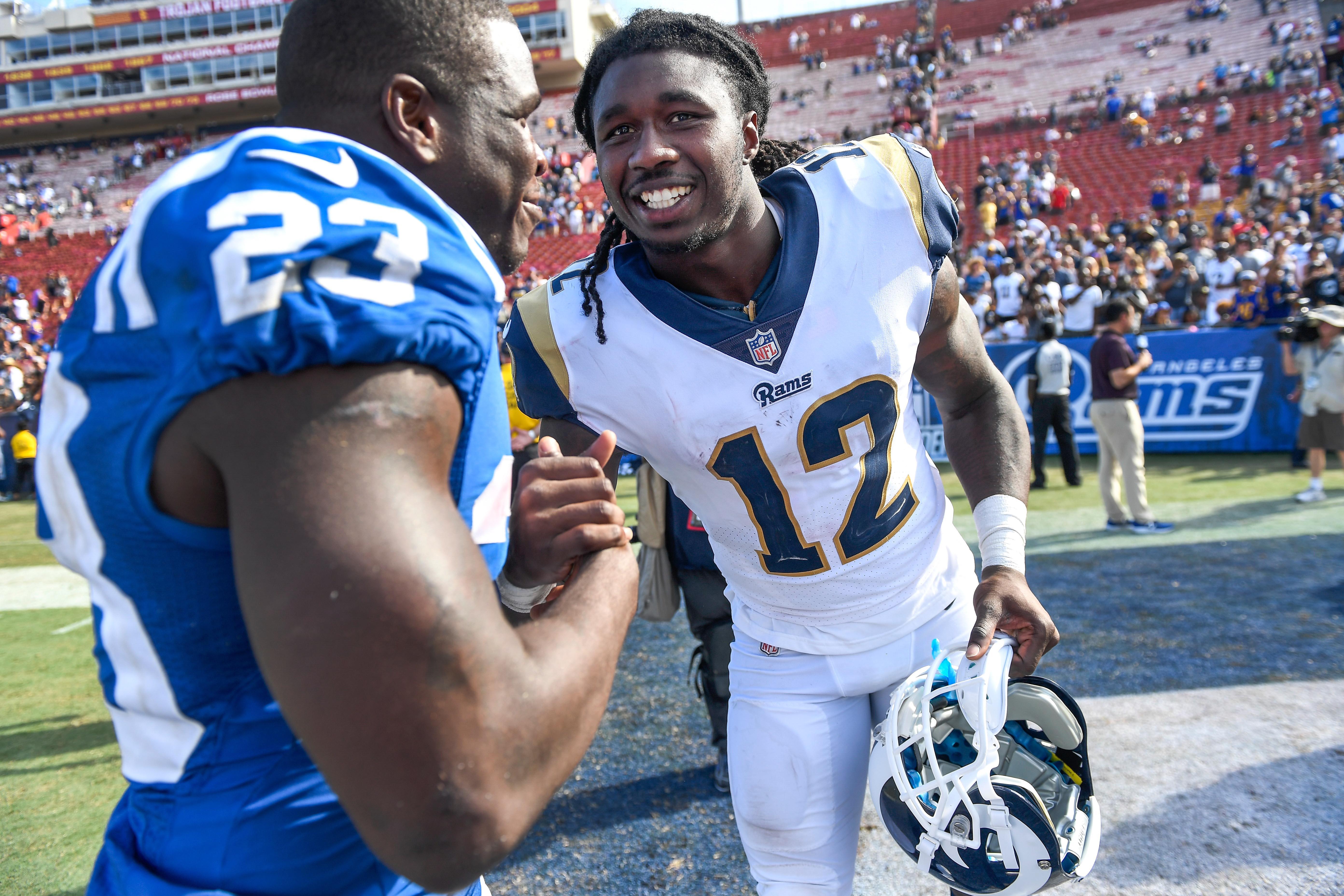 NFL: Indianapolis Colts at Los Angeles Rams