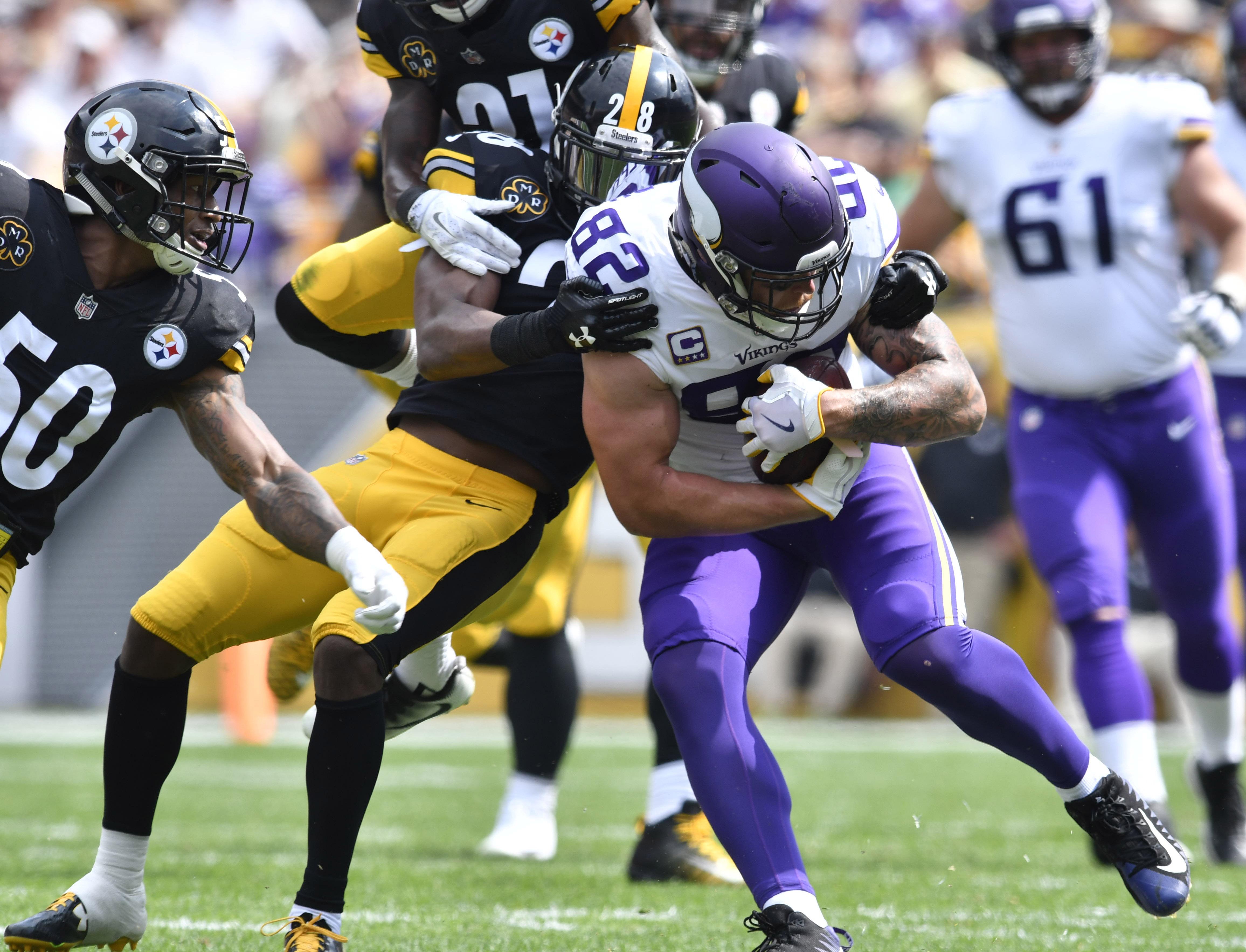 NFL: Minnesota Vikings at Pittsburgh Steelers