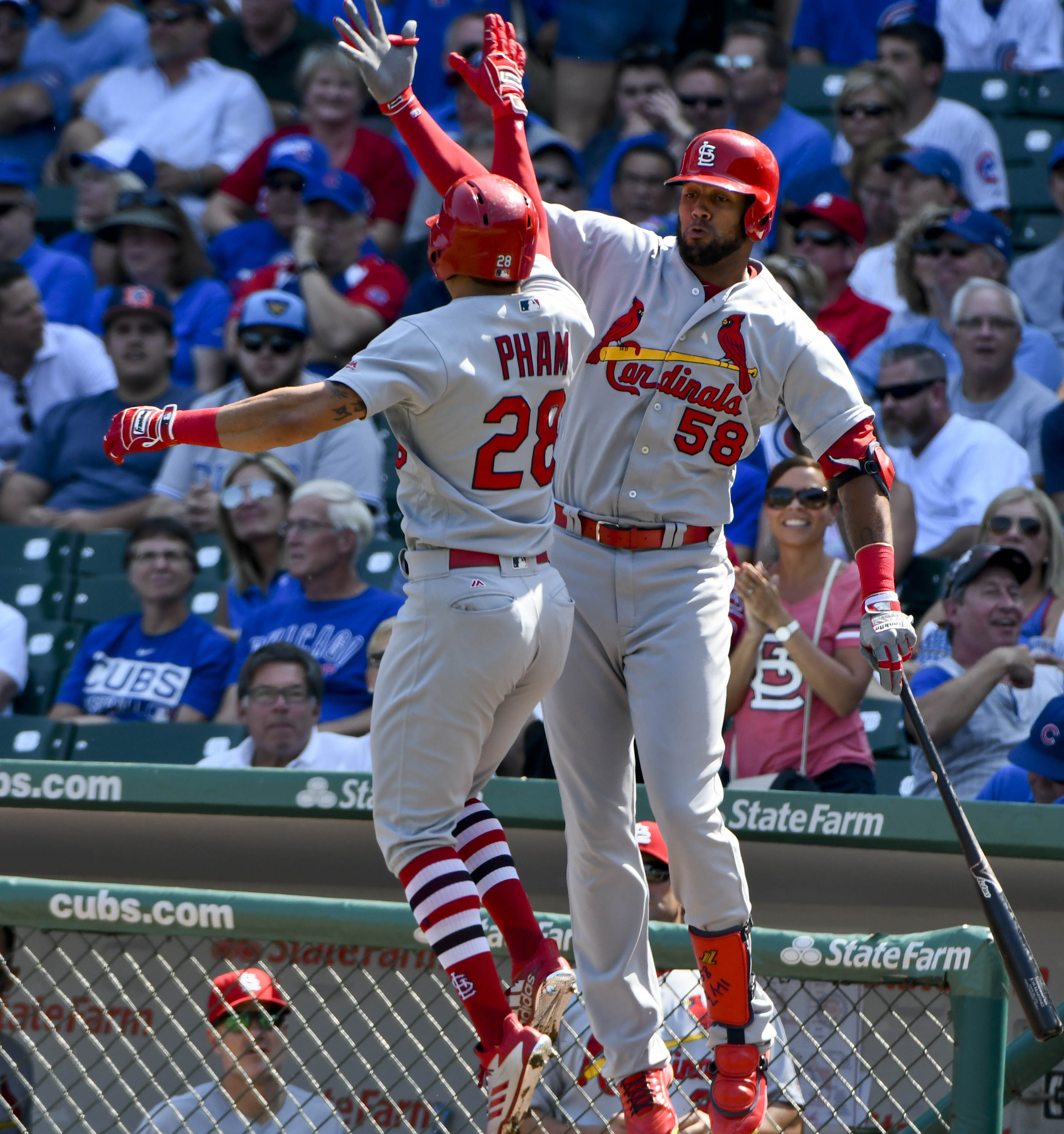 MLB:芝加哥小熊队圣路易斯红衣主教队