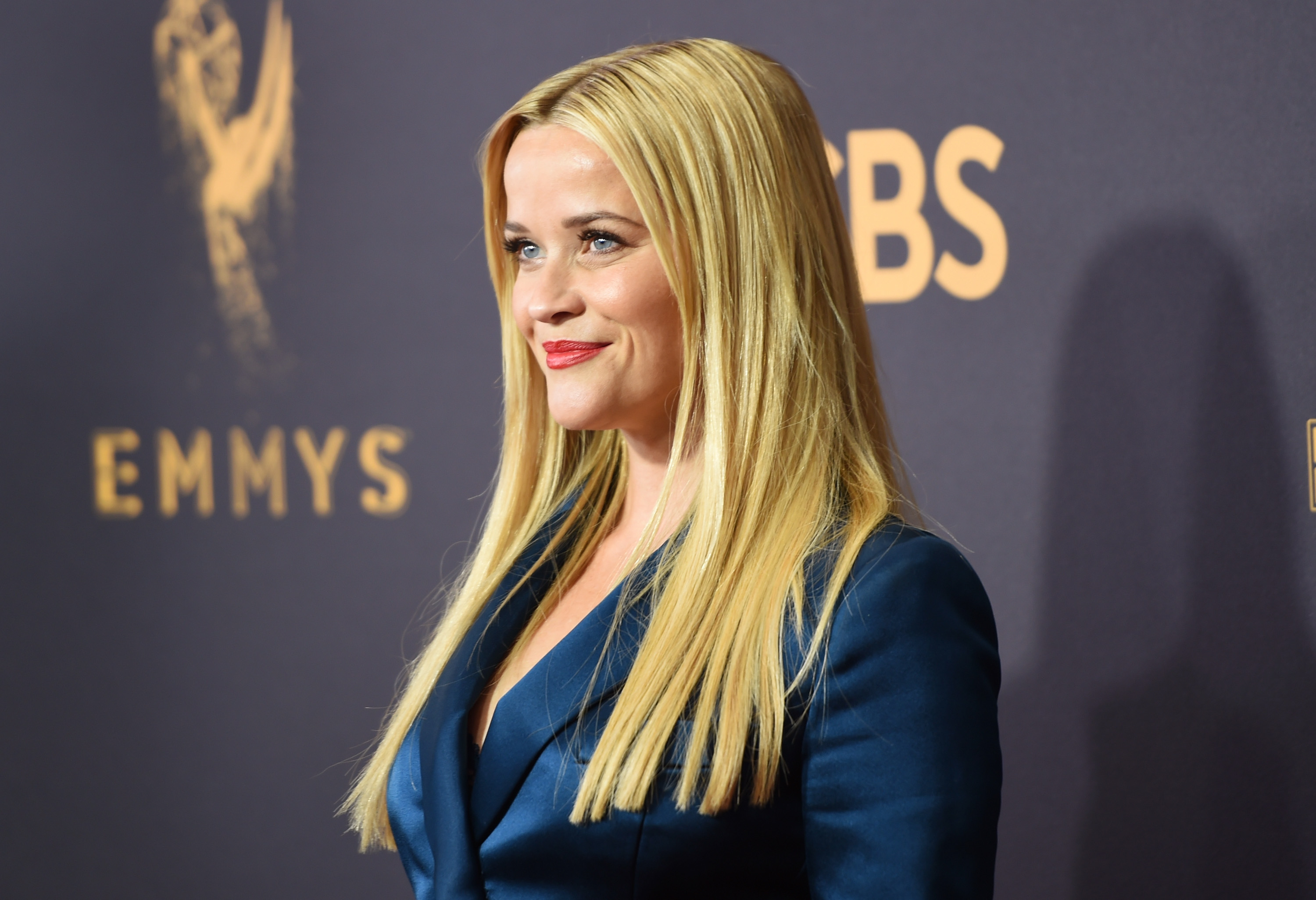 Reese Witherspoon at the 2017 Emmys.