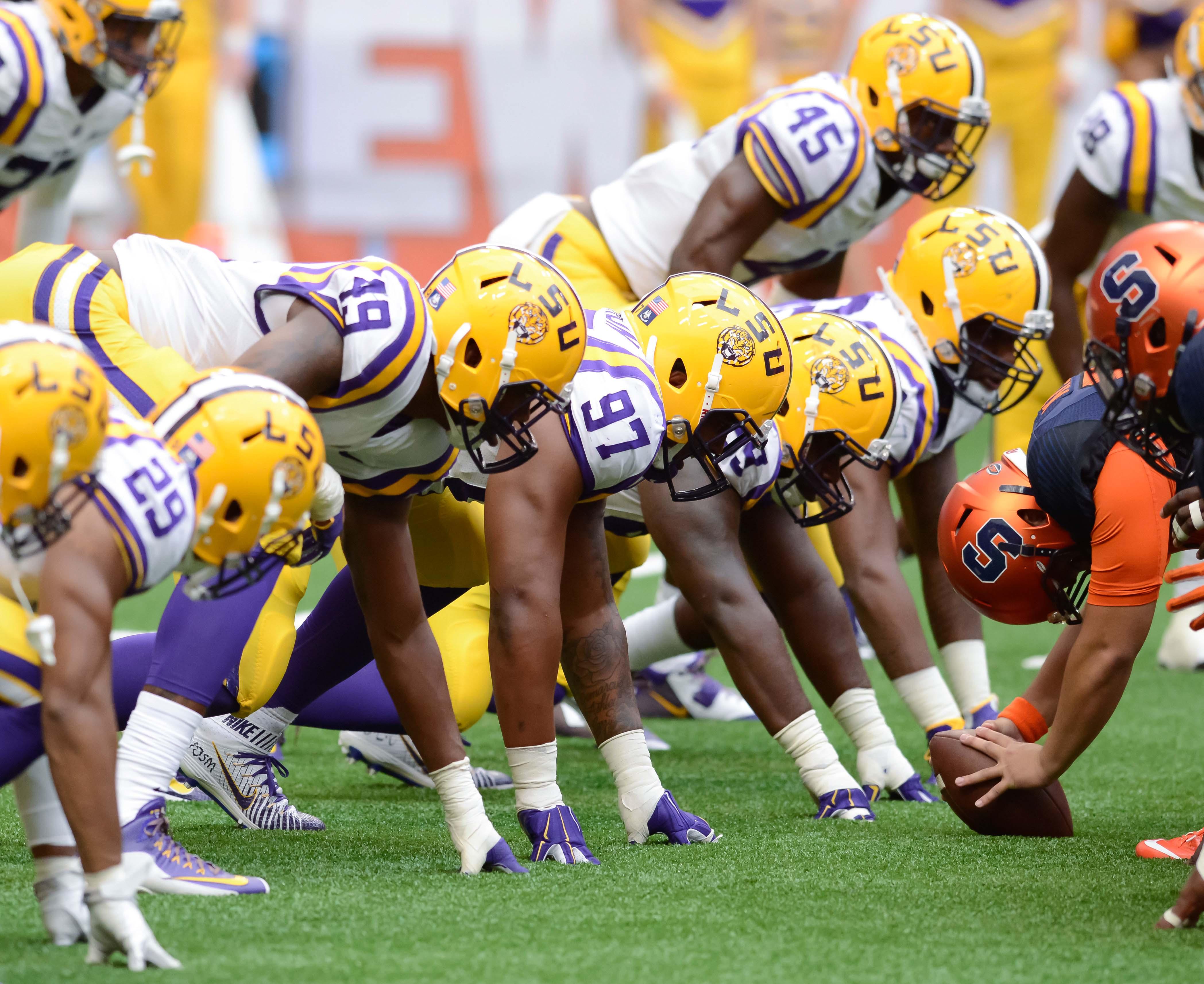 NCAA Football: Louisiana State at Syracuse
