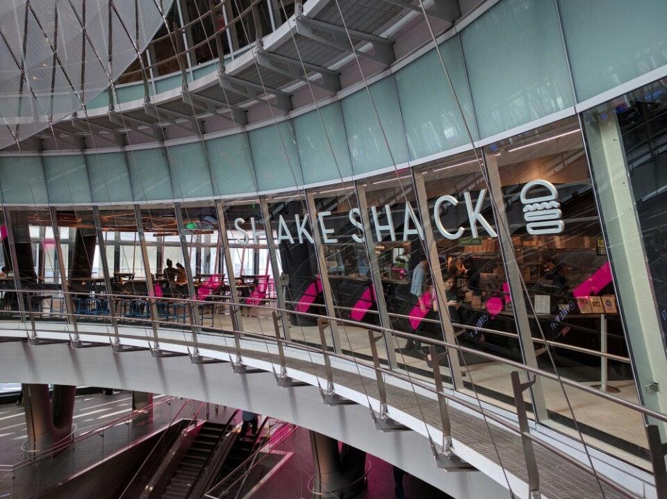 Shake Shack Fulton Transit Center