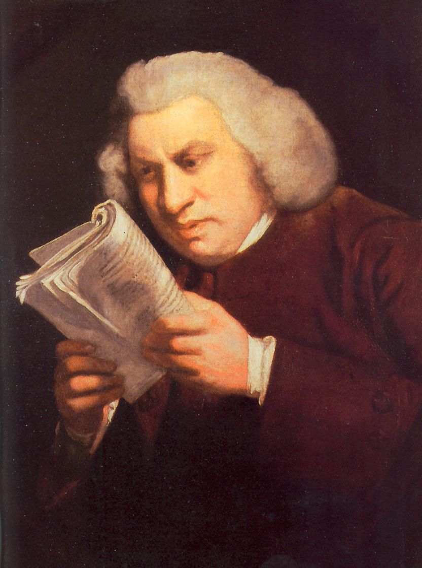 Samuel Johnson created the first great English dictionary. He was also hilarious.
