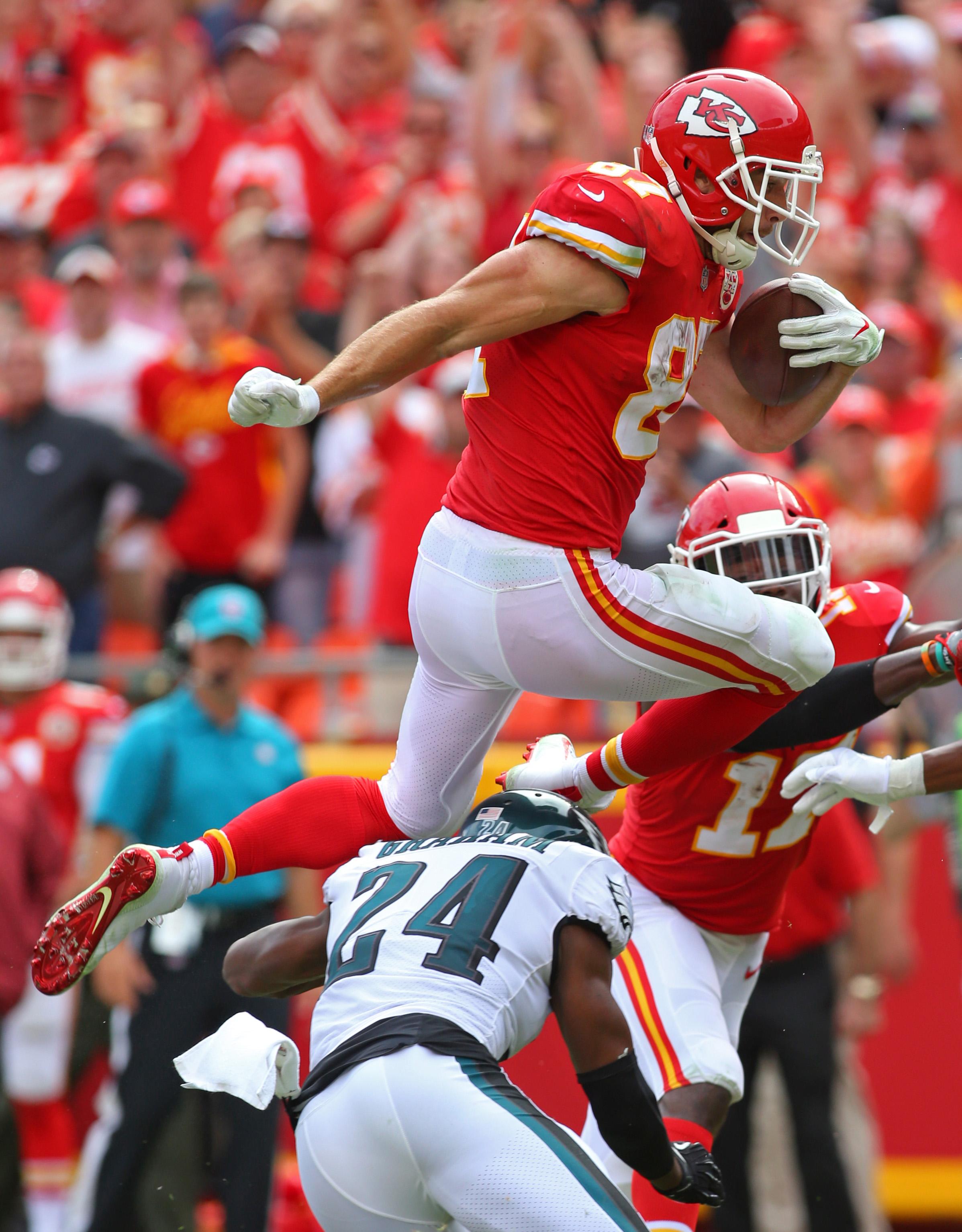 NFL: Philadelphia Eagles at Kansas City Chiefs