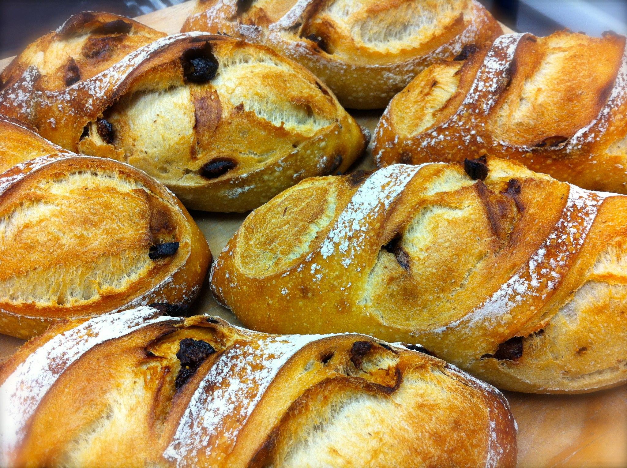 Baguette et Chocolat's sourdough bread
