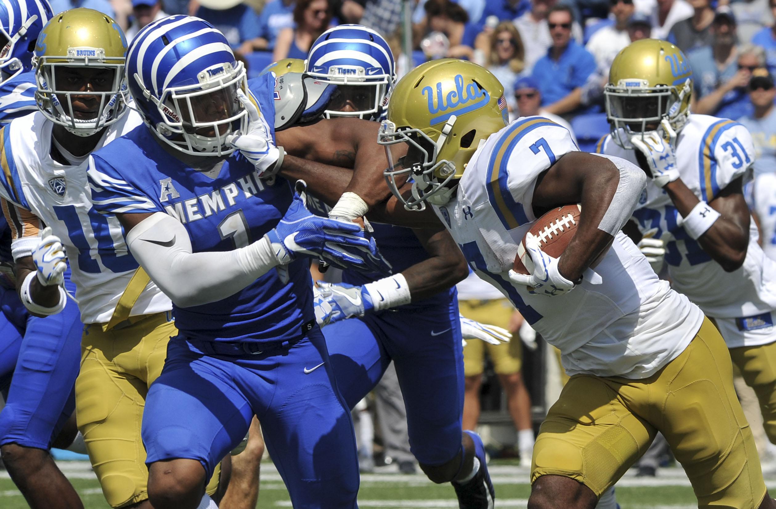 NCAA Football: UCLA at Memphis