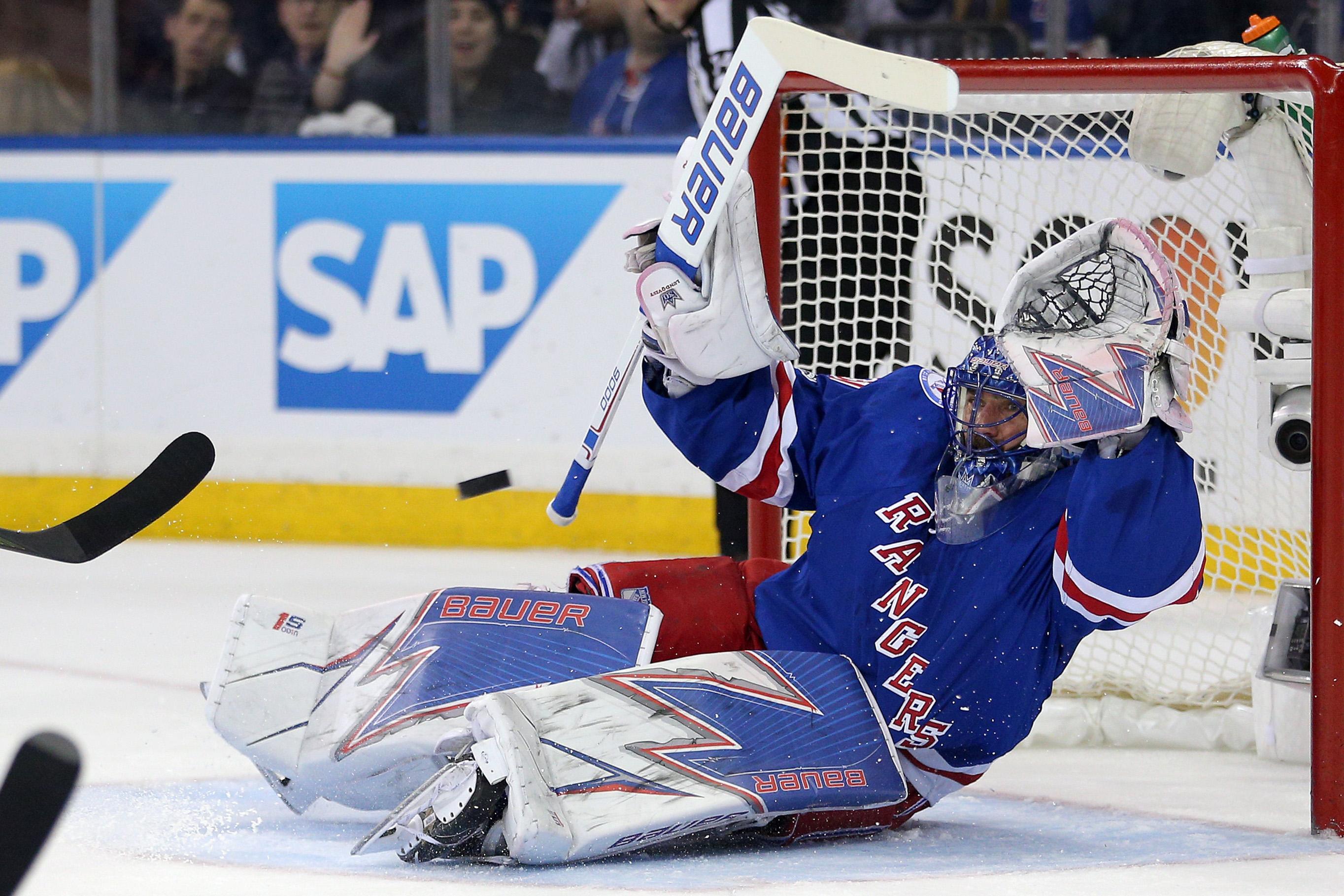 NHL: Stanley Cup Playoffs-Ottawa Senators at New York Rangers