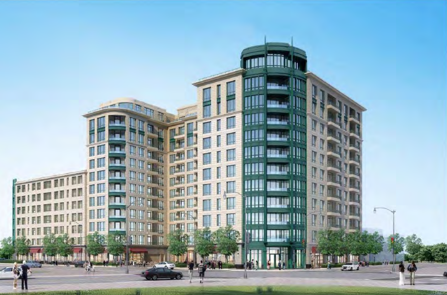 Twelve-story high-rise development proposed for suburban Skokie