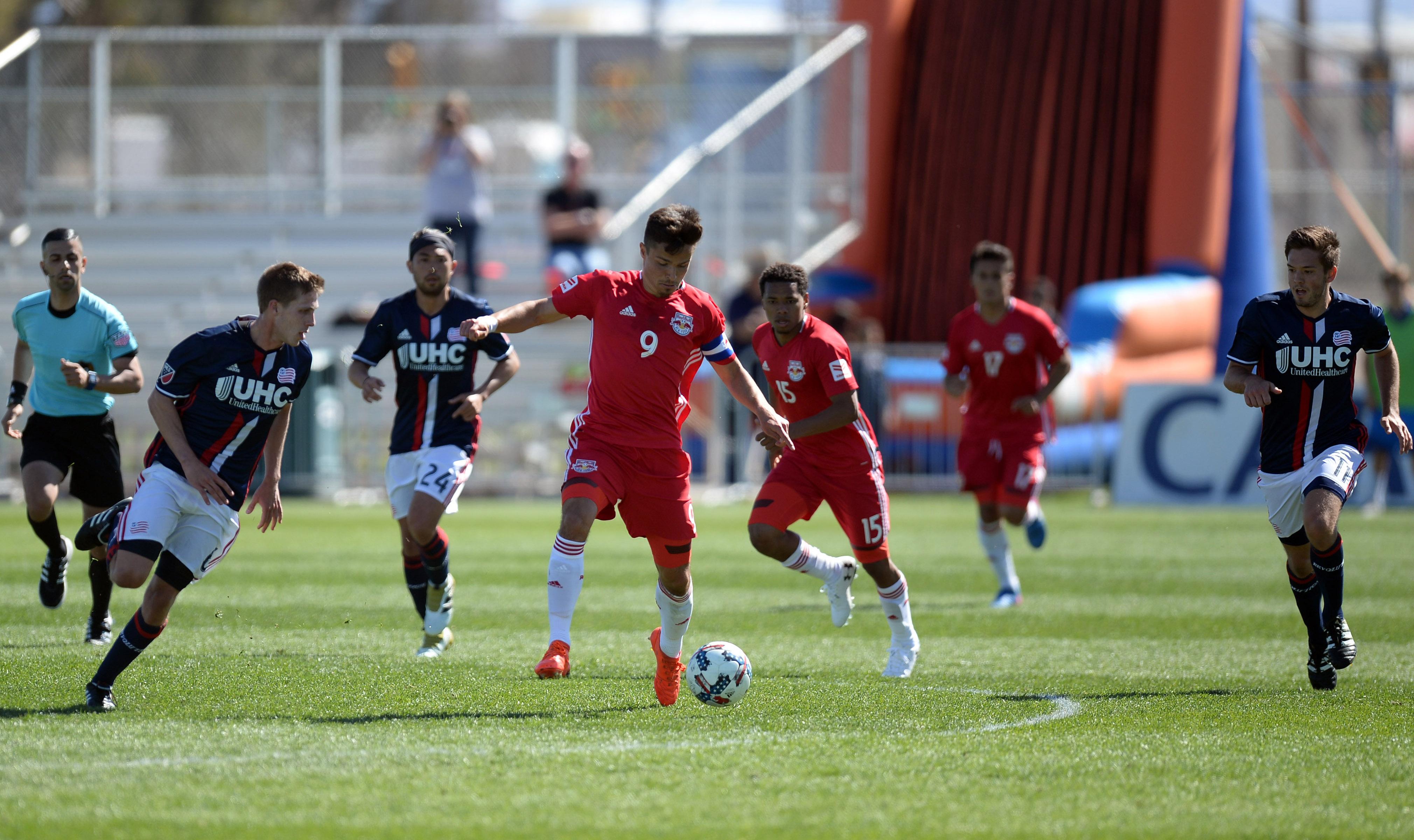 MLS: New England Revolution vs New York Red Bulls