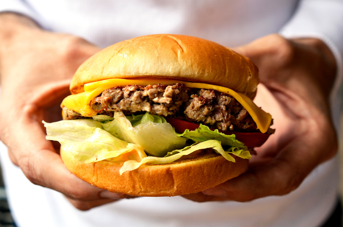 The Impossible 'Bleeding' Veggie Burger Debuts at Chicago's M Burger