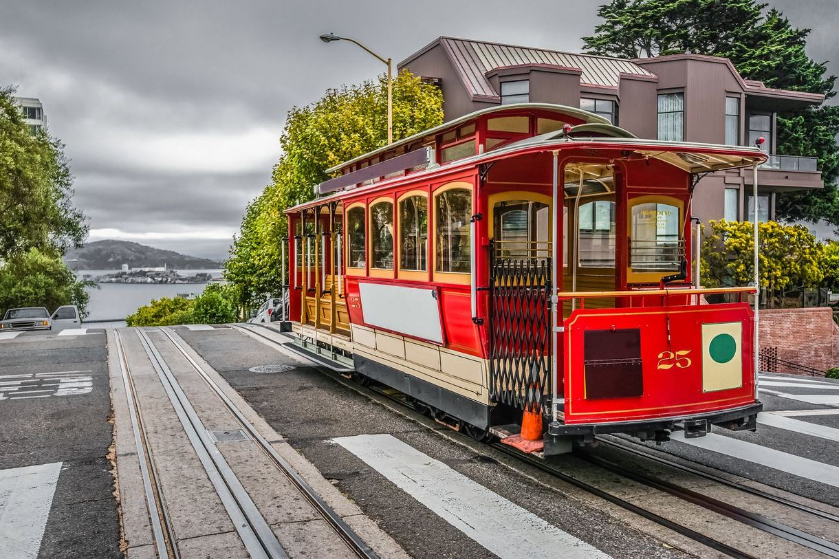 Best Place To Ride San Francisco Cable Car