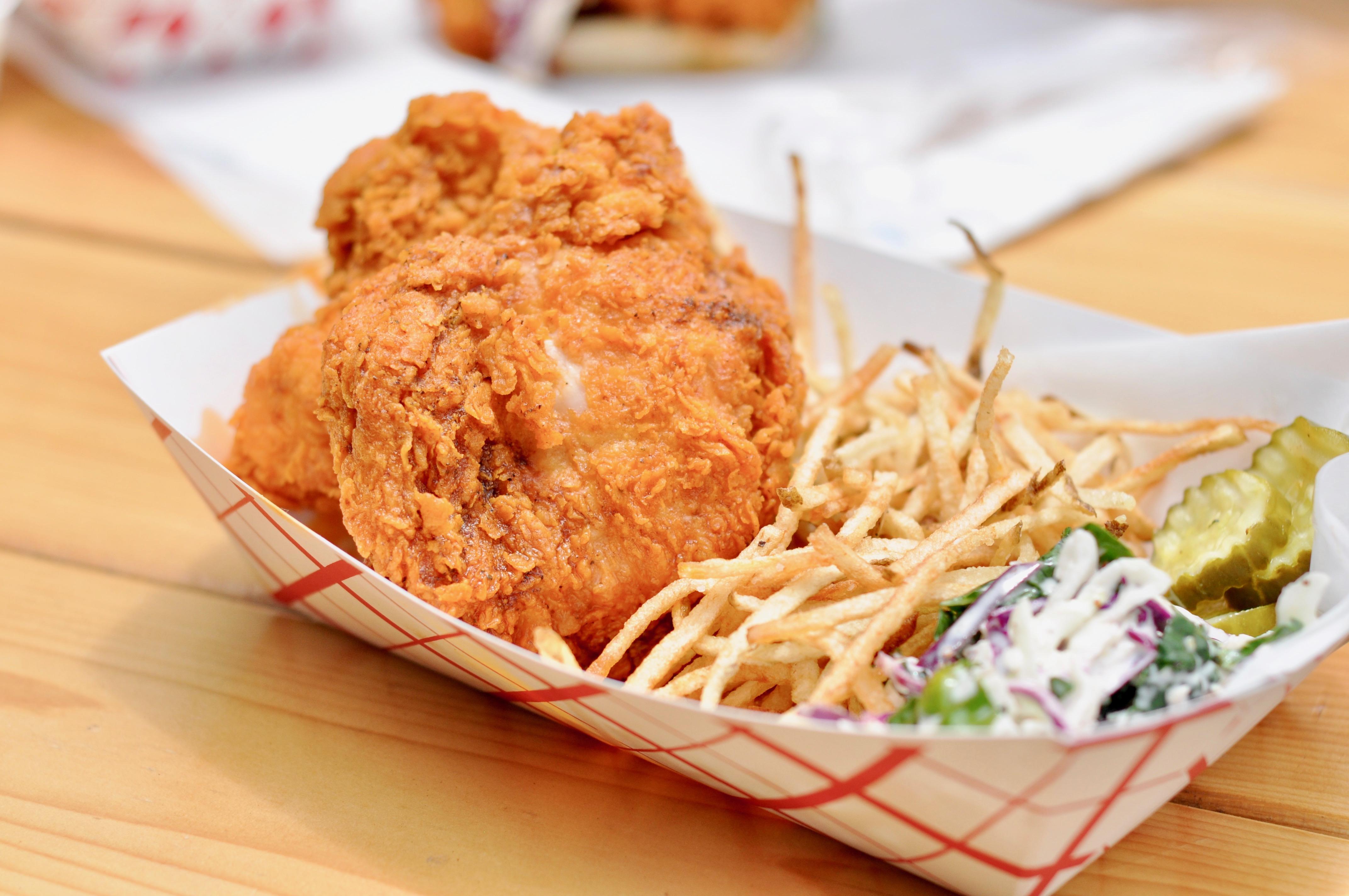 Tumble 22's hot chicken