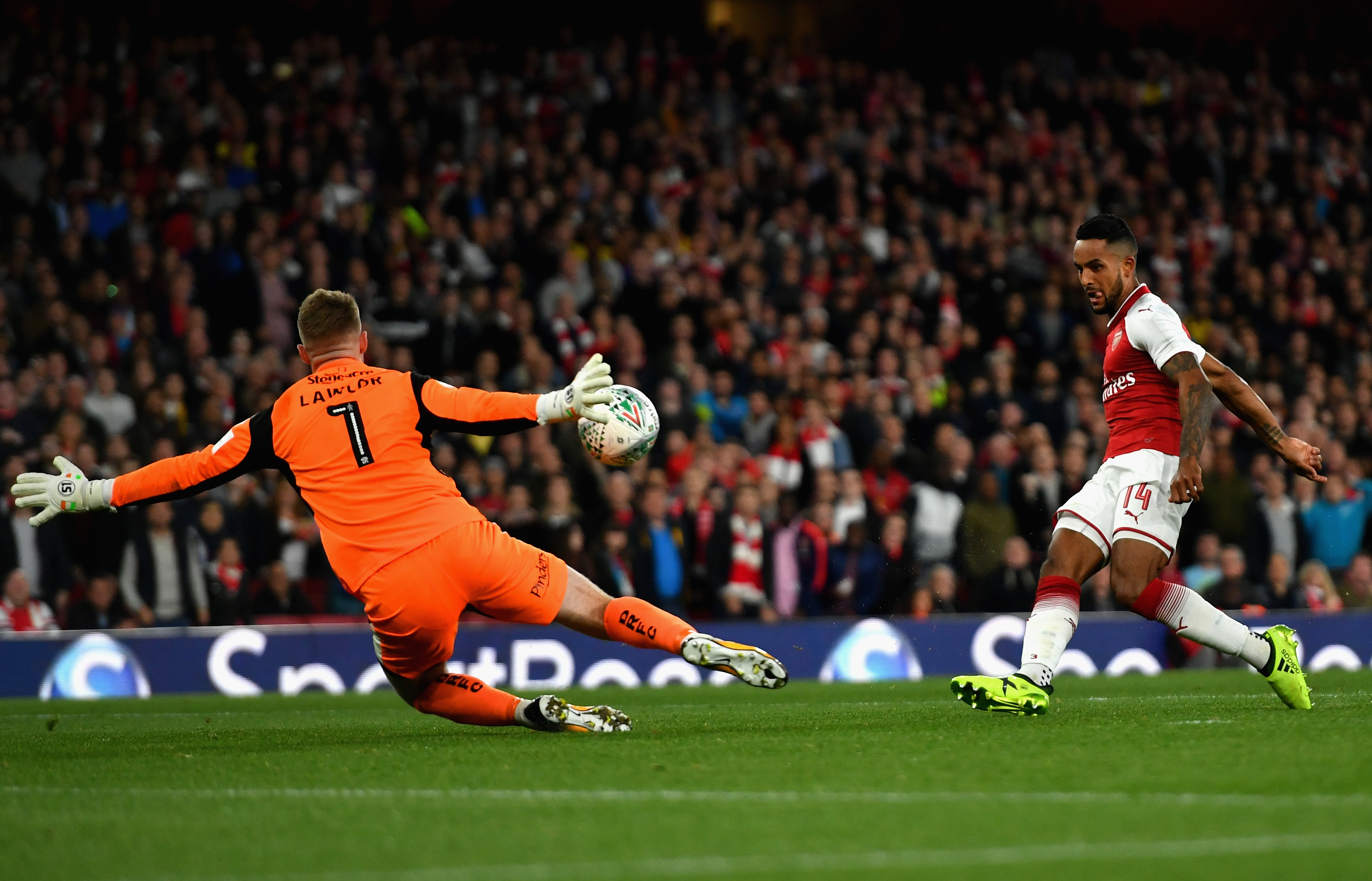 Arsenal v Doncaster Rovers - Carabao Cup Third Round
