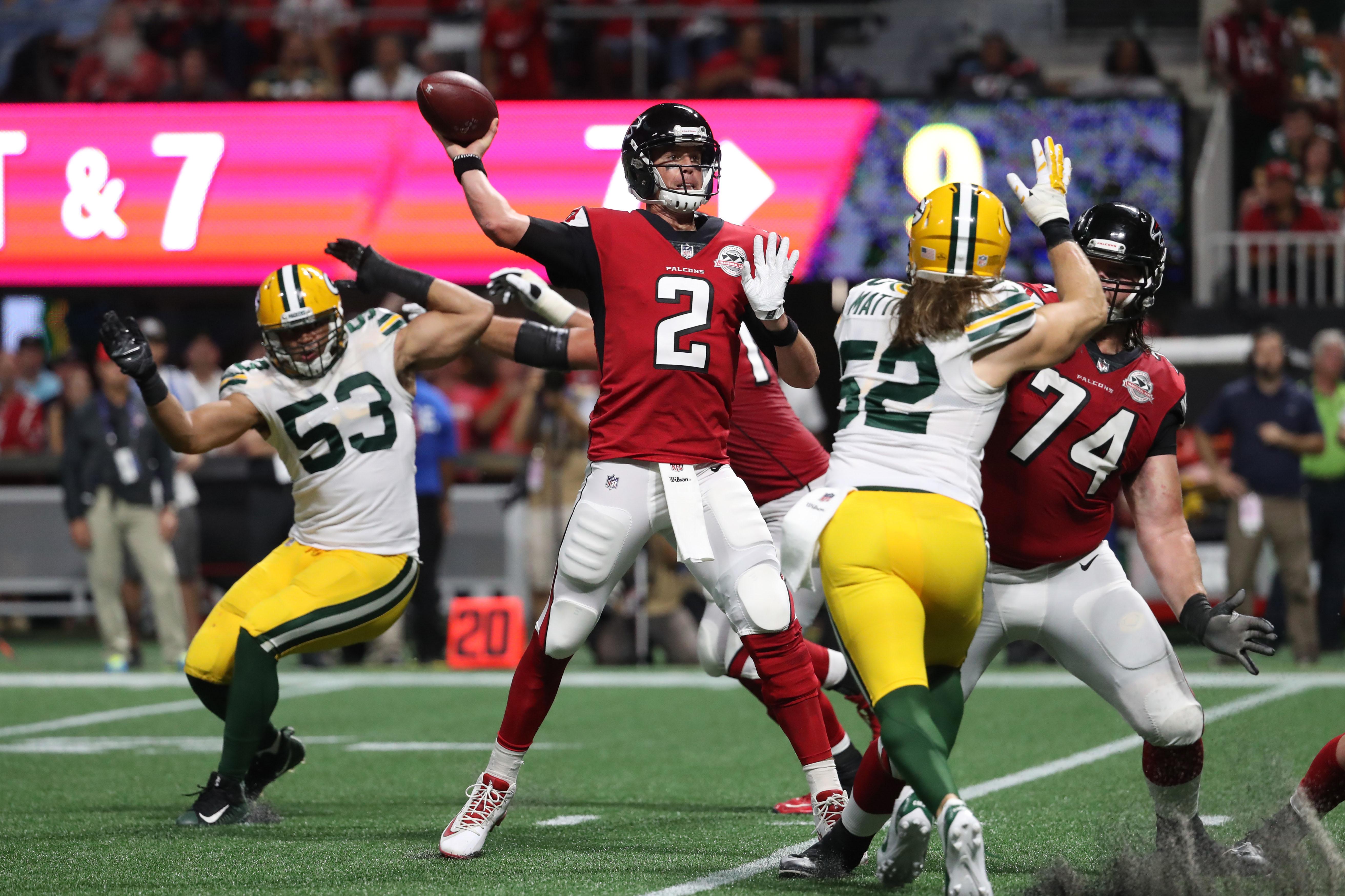 NFL: Green Bay Packers at Atlanta Falcons