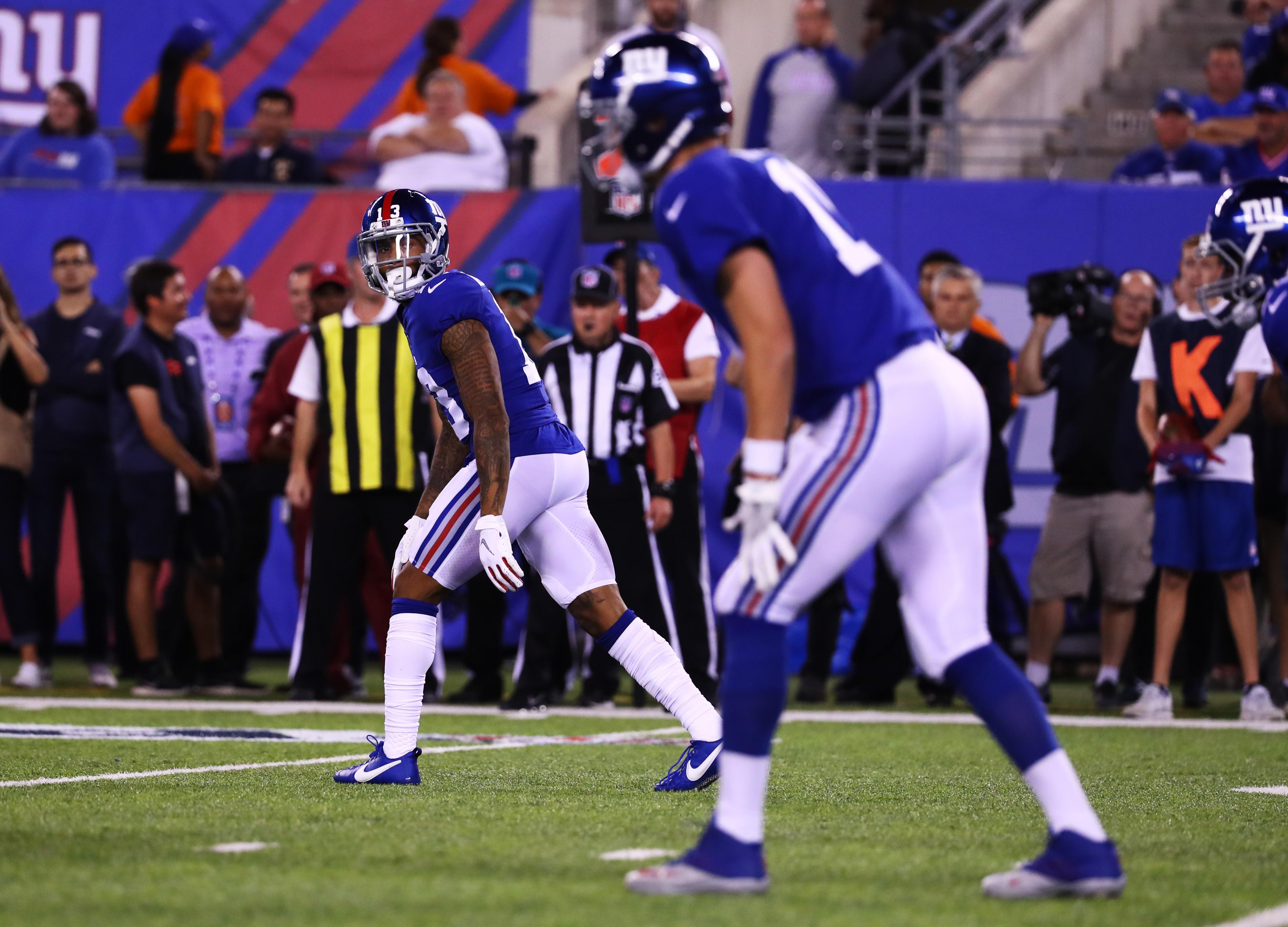 Detroit Lions vs New York Giants