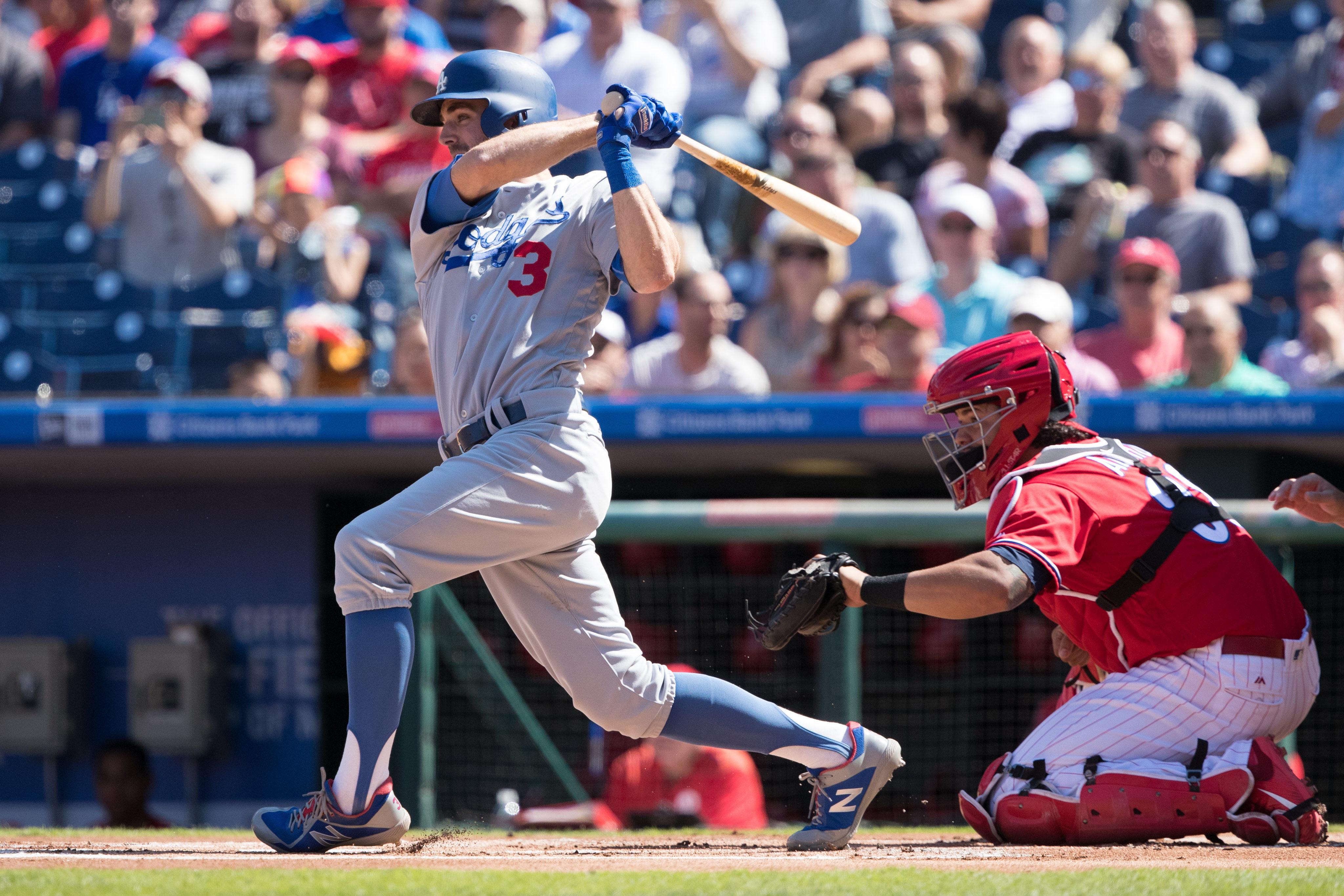 MLB: Los Angeles Dodgers at Philadelphia Phillies