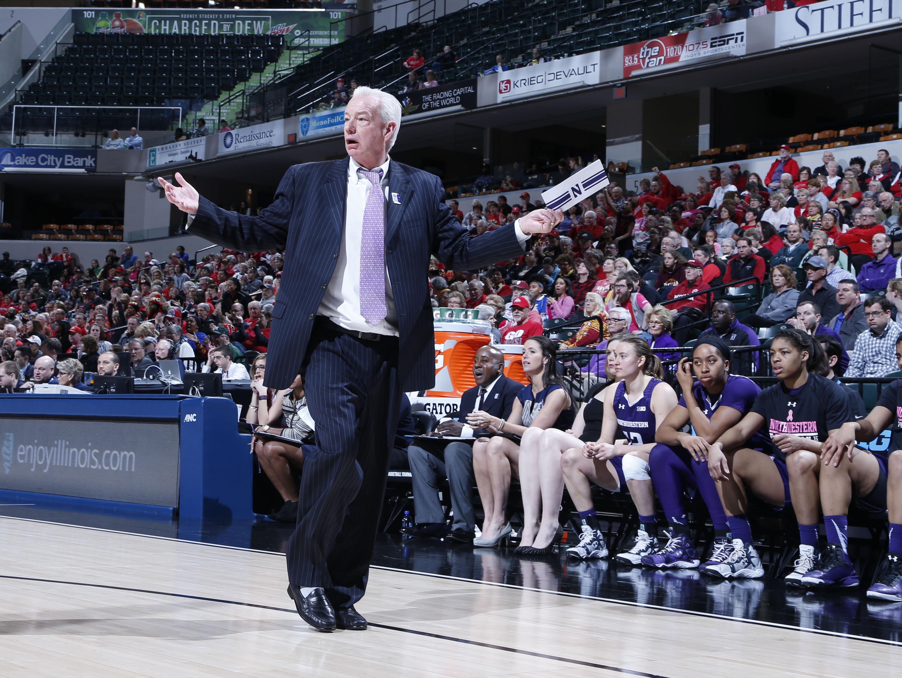 NCAA Womens Basketball: Big Ten Conference Tournament Maryland v Northwestern