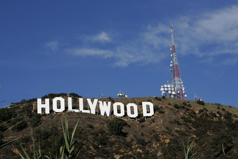 Hollywood Sign Repainting Project Completed With LA Mayor Antonio Villaraigosa