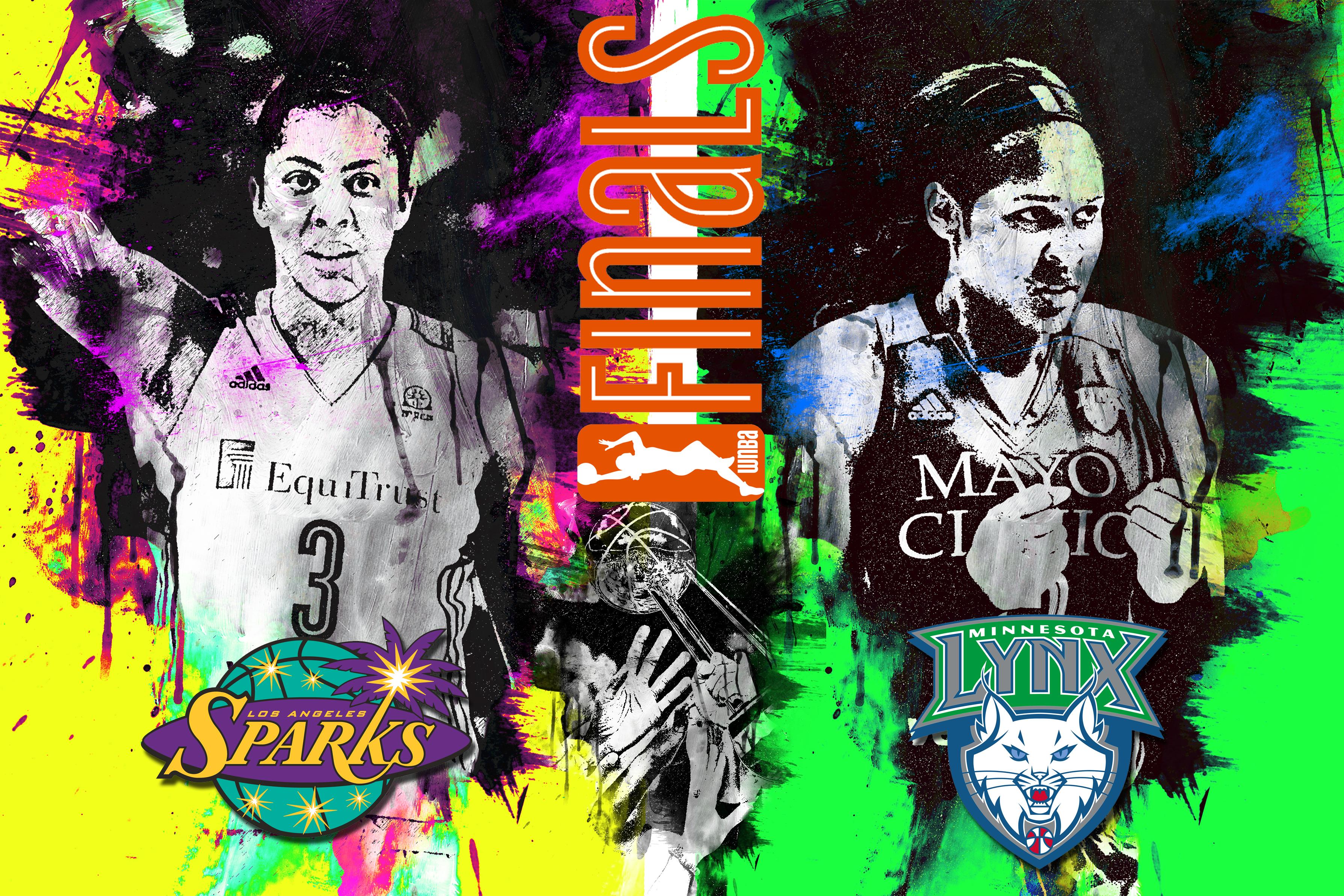 Candace Parker, Maya Moore, WNBA Finals