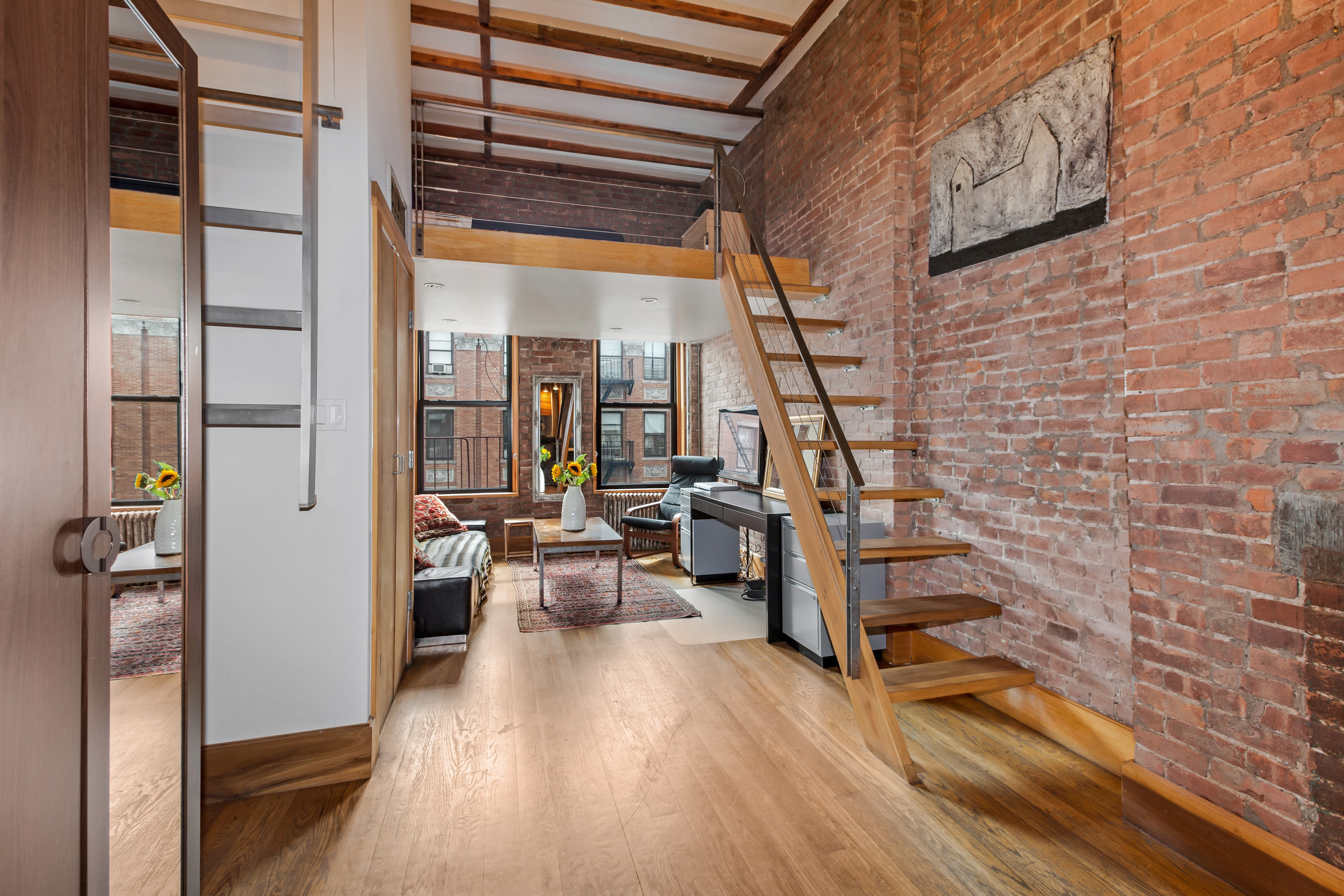 best instagram accounts for nyc subway lovers curbed ny for 460k an industrial chic east village studio with a sleeping loft