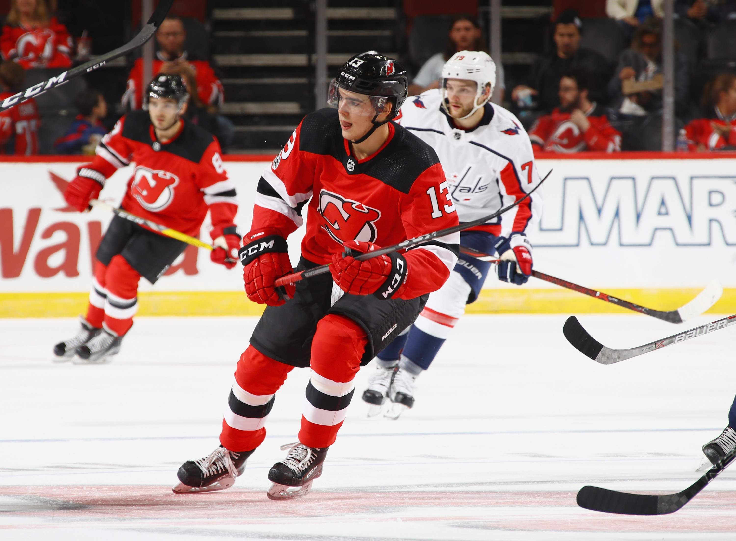ce9cdbb66 Can Hischier Land Among the Top Seasons by a Devils Rookie?