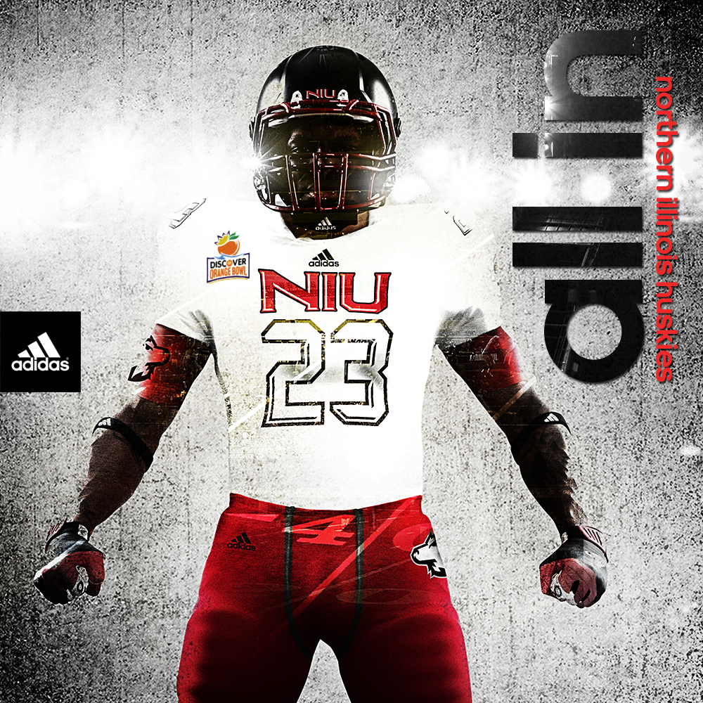 New Adidas uniforms for Northern Illinois