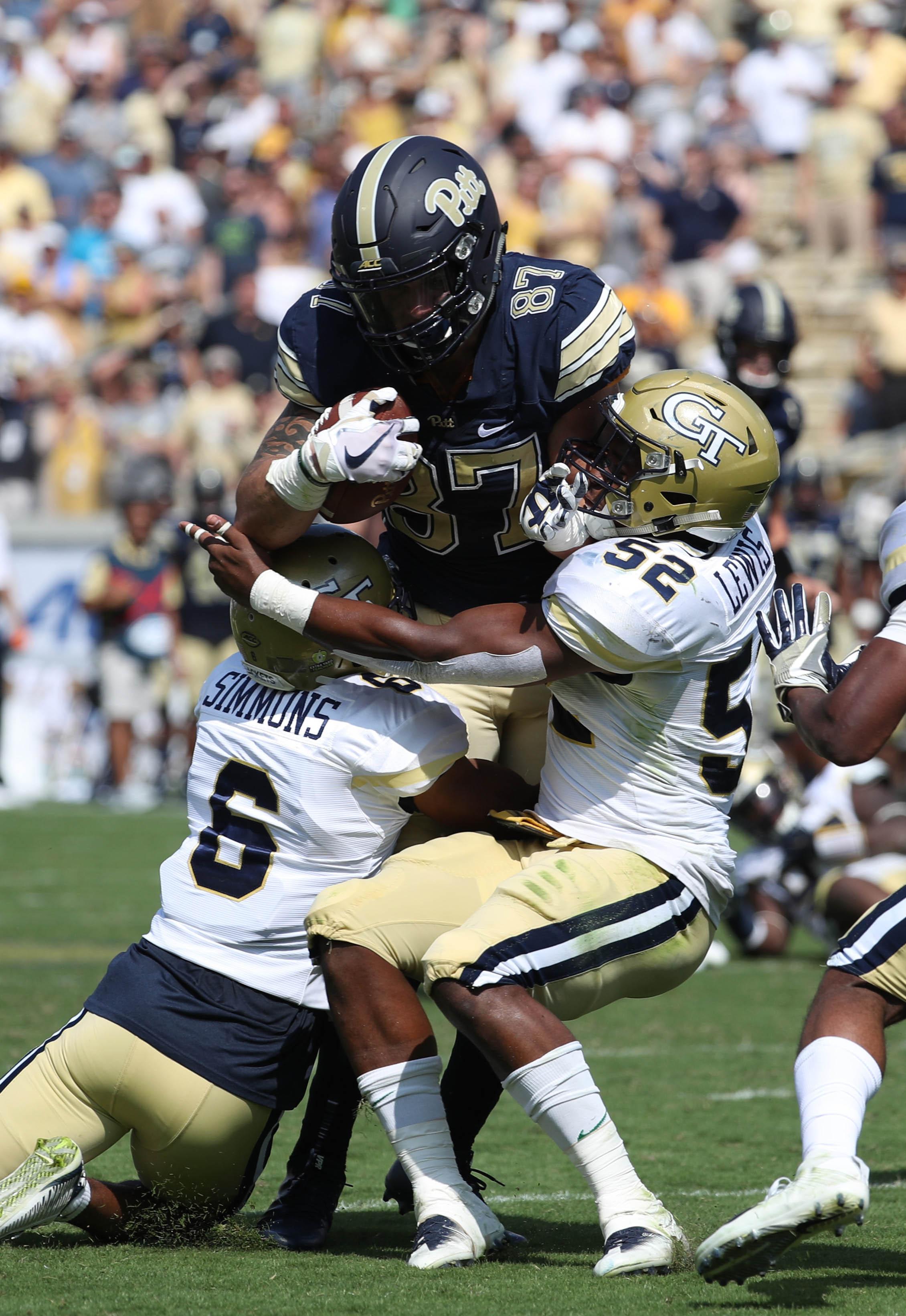 NCAA Football: Pittsburgh at Georgia Tech