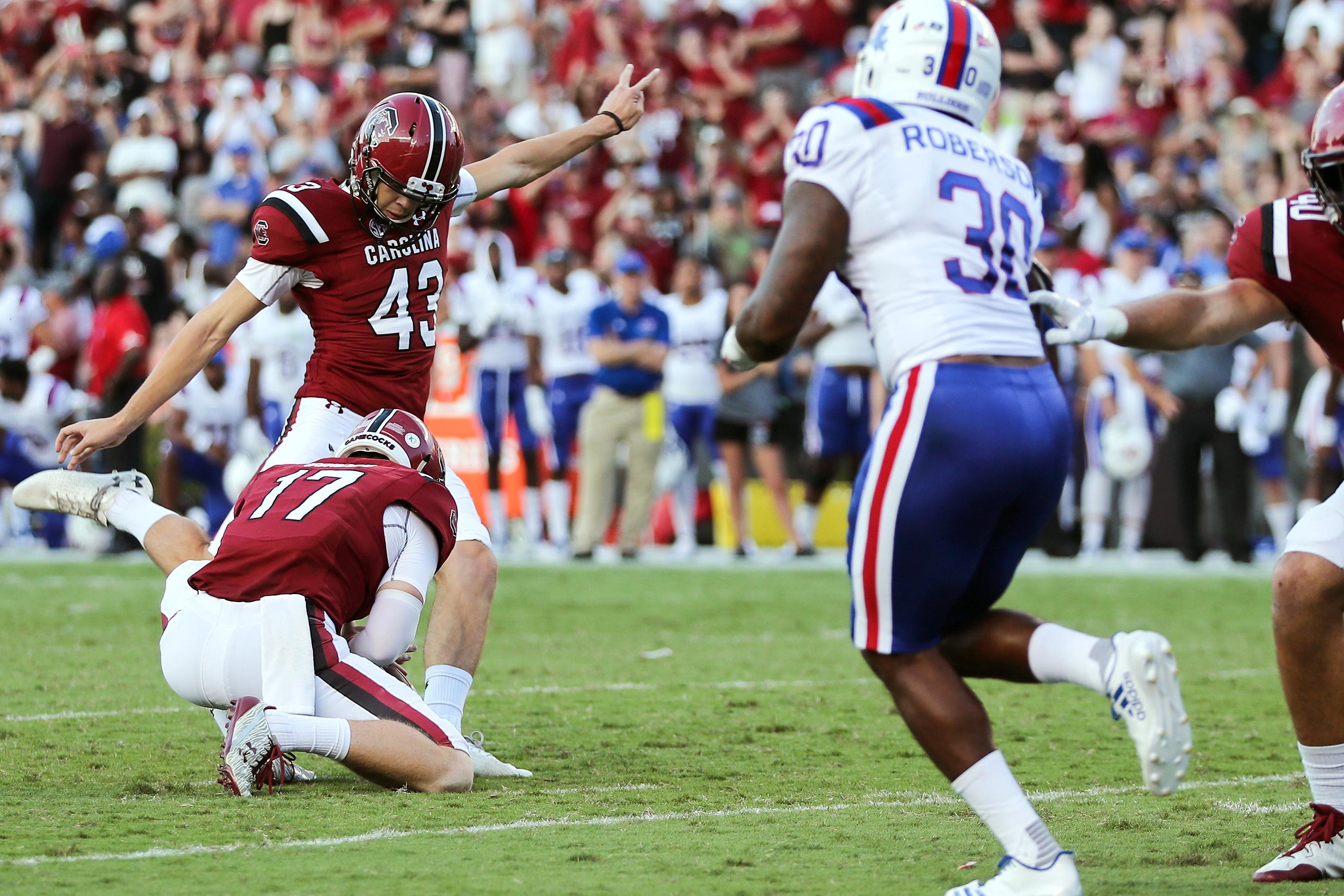 NCAA Football: Louisiana Tech at South Carolina