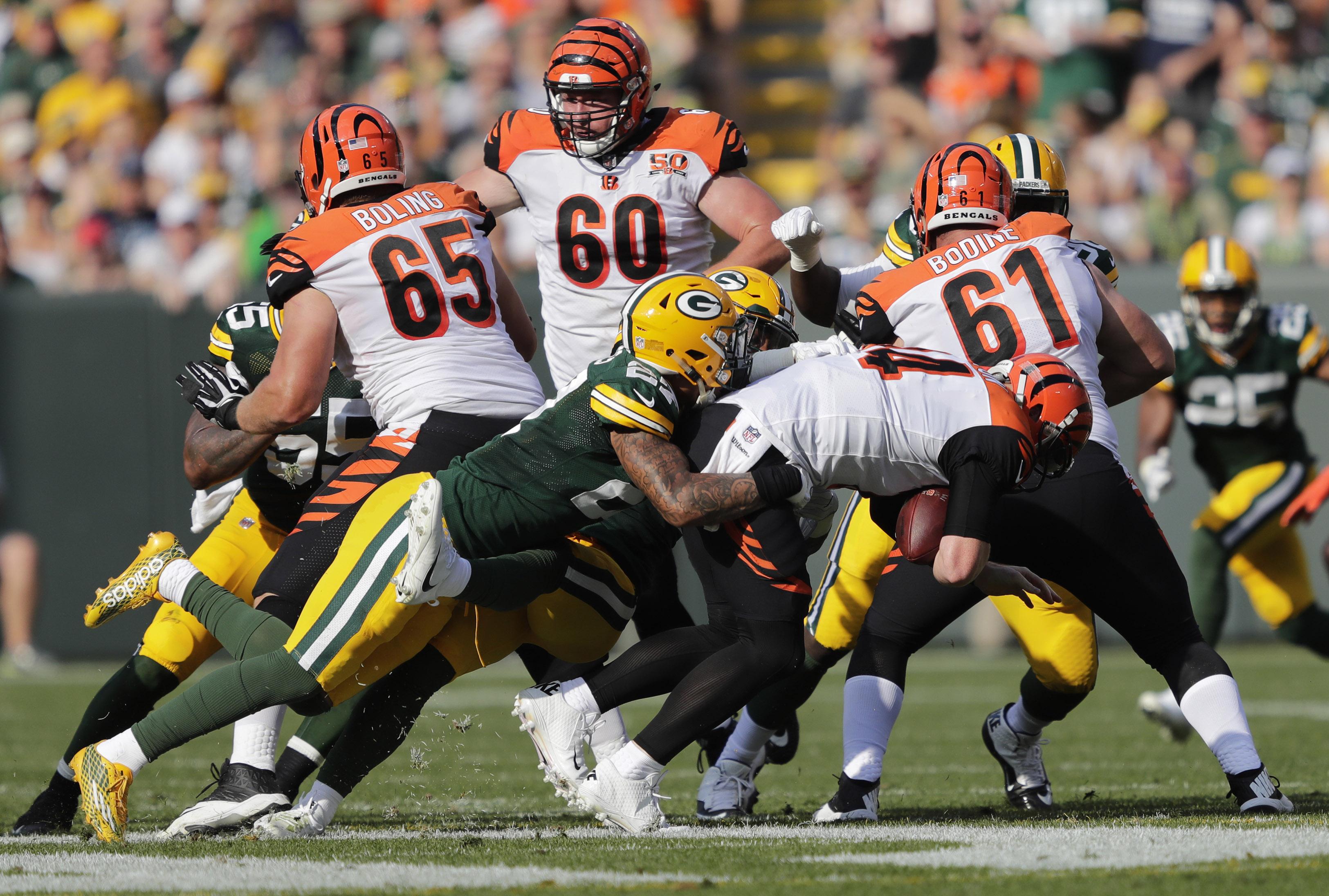 NFL: Cincinnati Bengals at Green Bay Packers