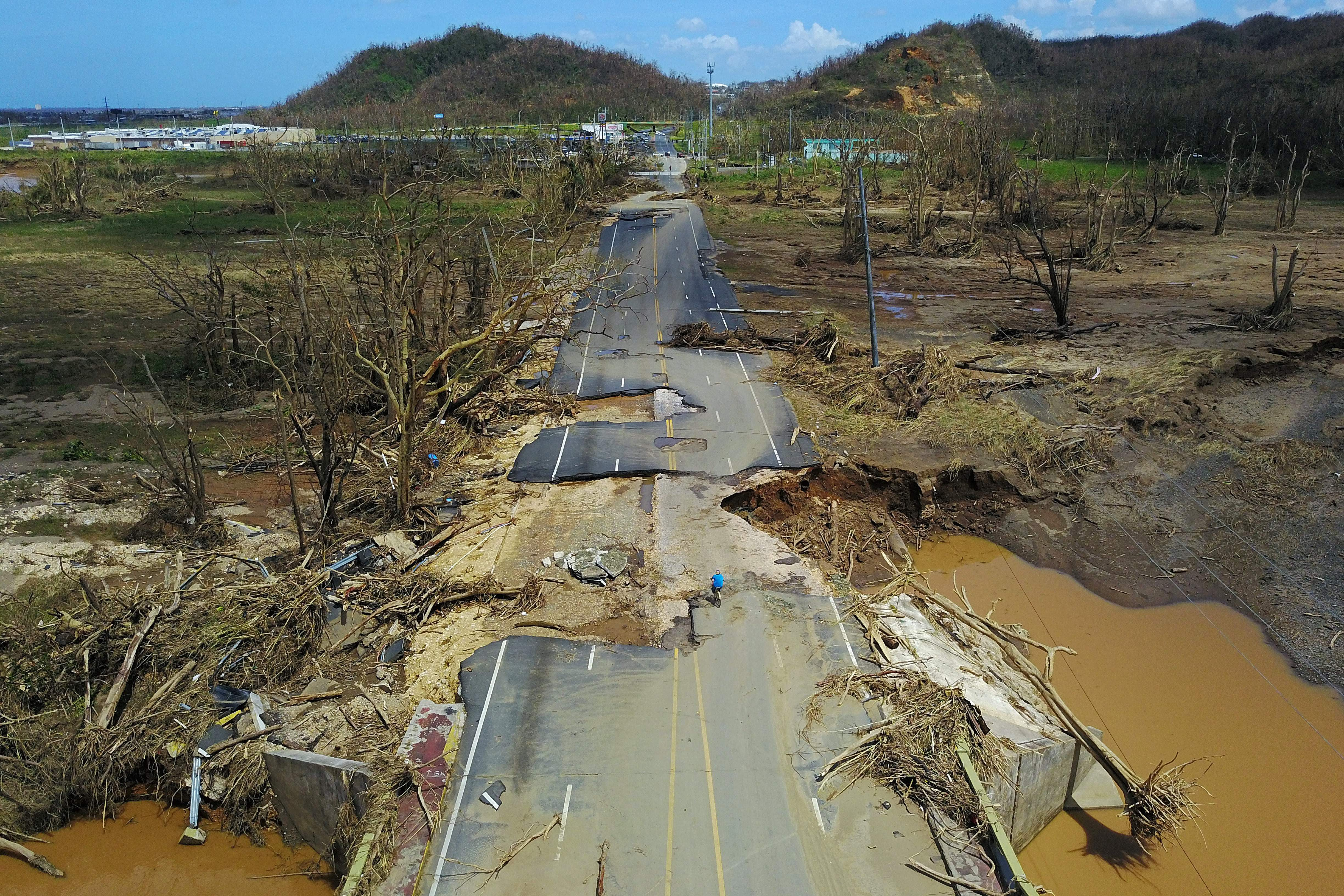 """""""Hysteria is starting to spread"""": Puerto Rico is devastated in the wake of Hurricane Maria"""