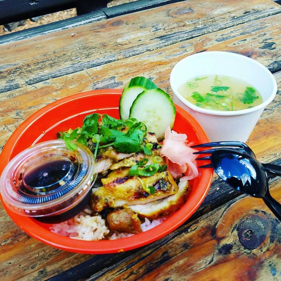 Khao gai yung from Thai Kun