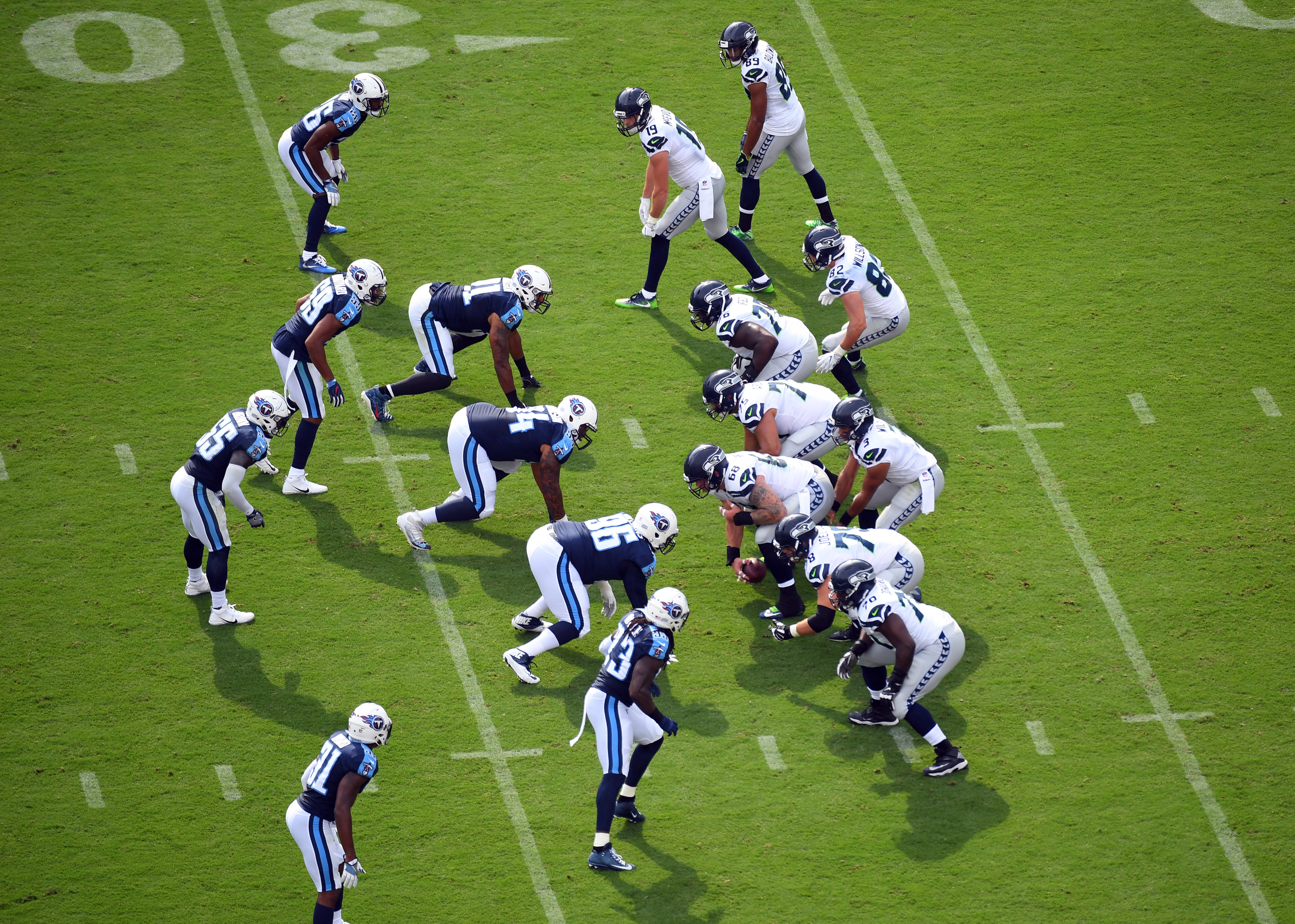 NFL: Seattle Seahawks at Tennessee Titans