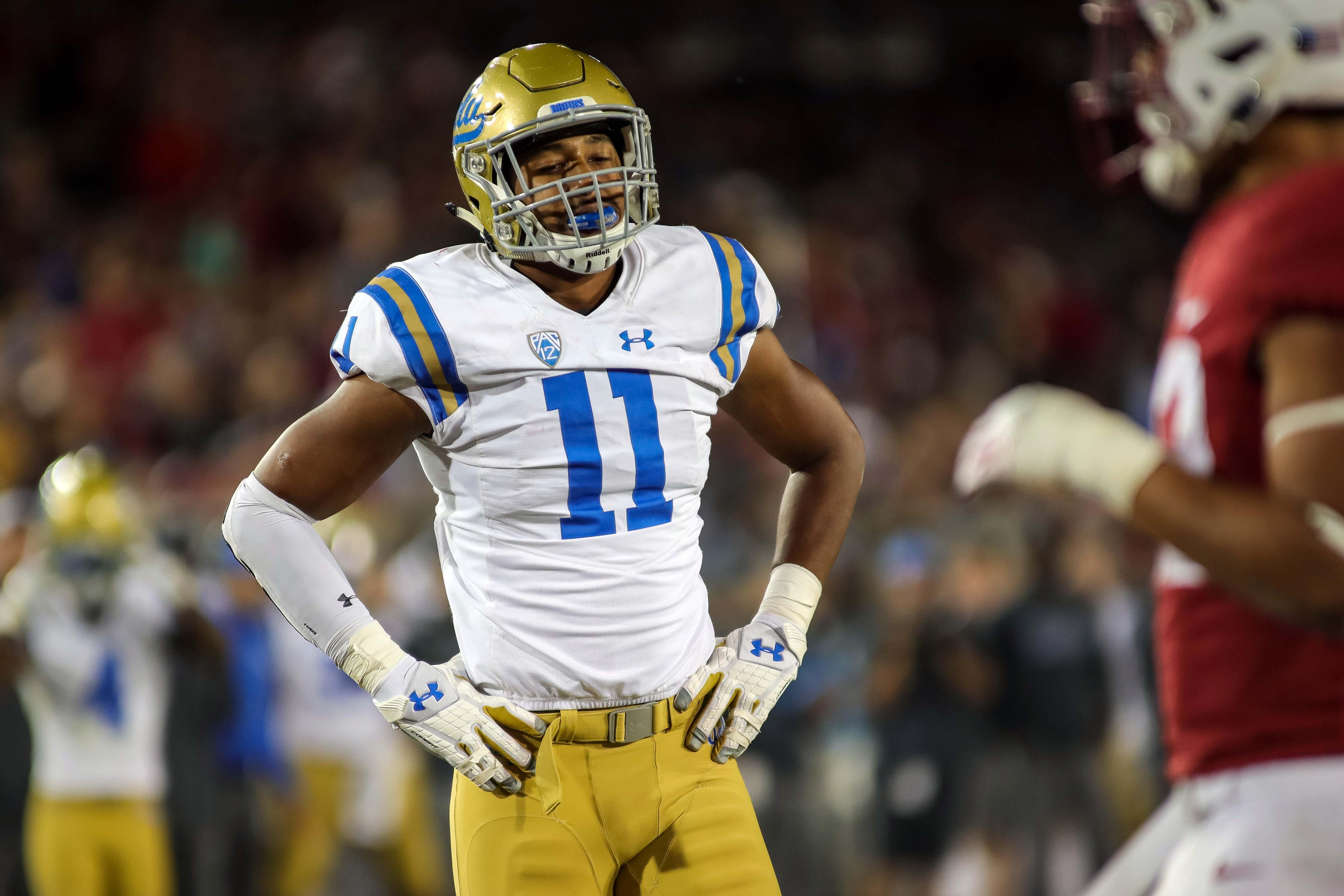 NCAA Football: UCLA at Stanford