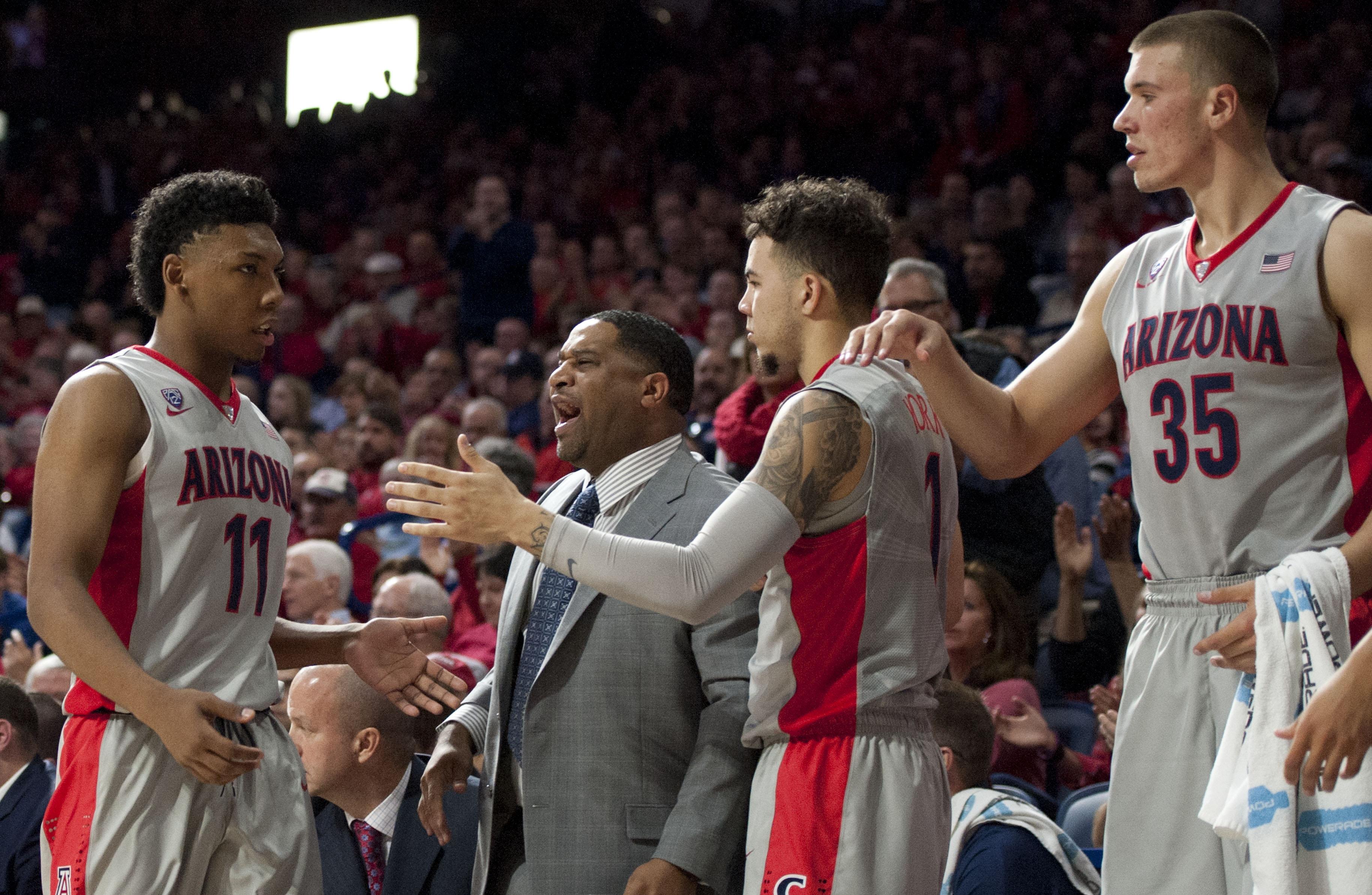 NCAA Basketball: Bradley at Arizona