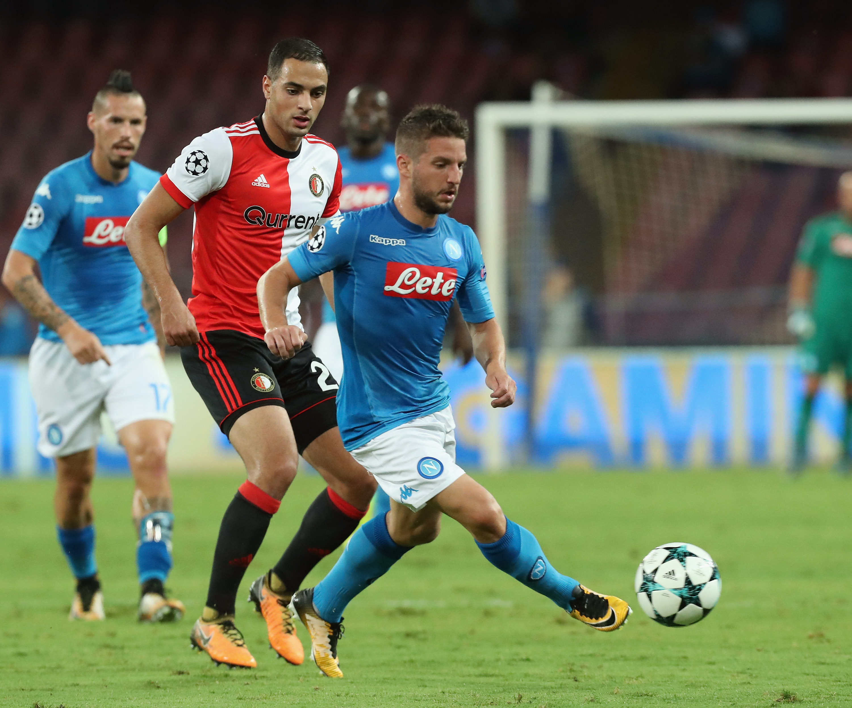 SSC Napoli v Feyenoord - UEFA Champions League