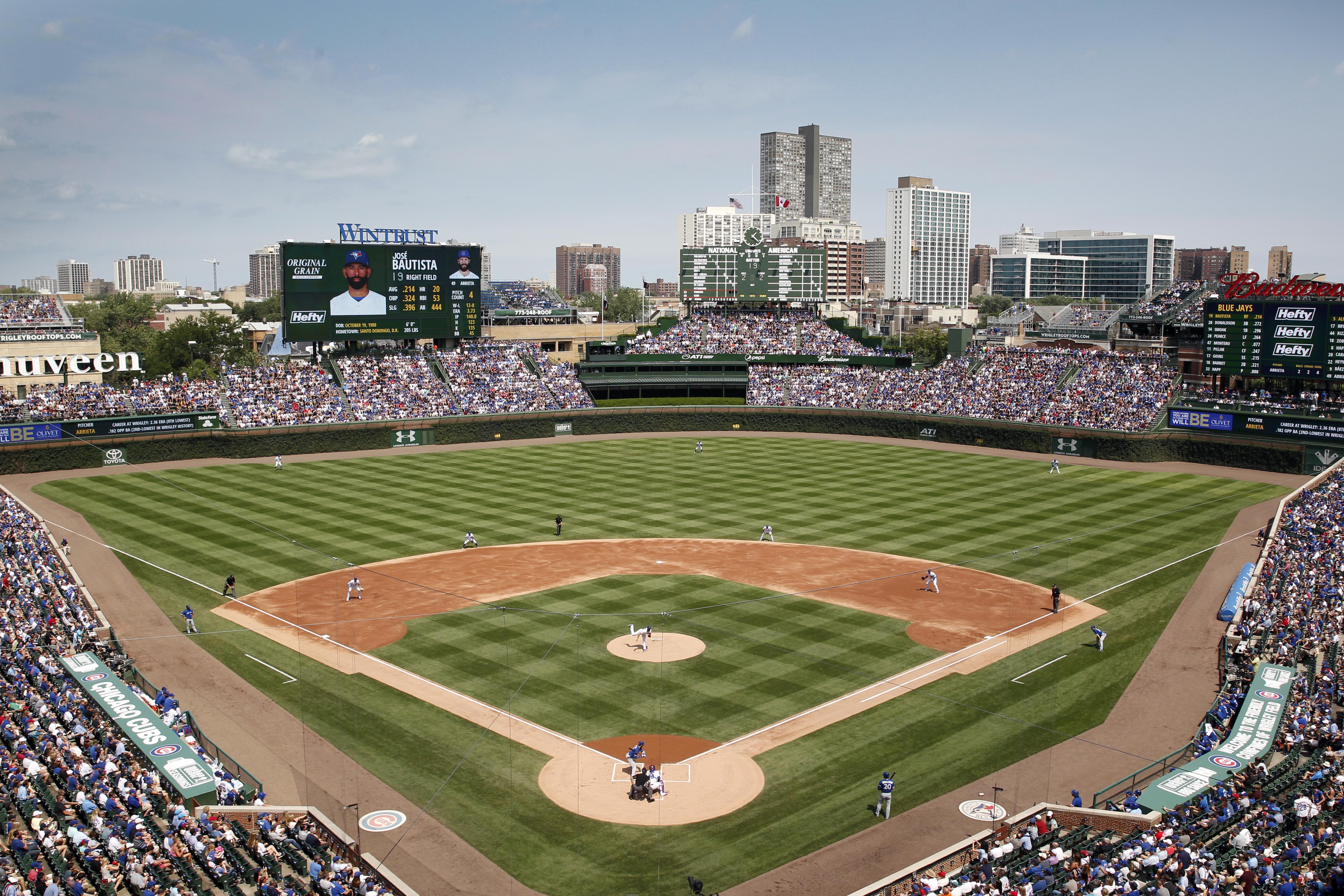 Wrigley field renovations bleed cubbie blue the cubs will add more safety netting to wrigley field in 2018 amipublicfo Gallery
