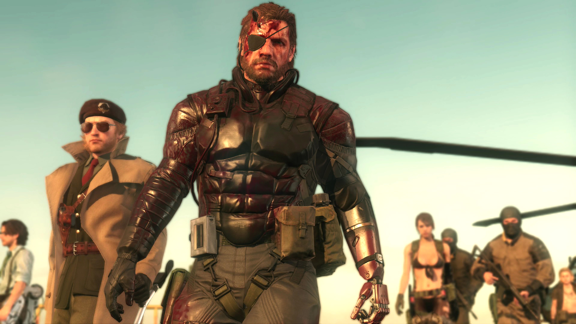 PlayStation Plus subscribers get MGS 5: The Phantom Pain free in October